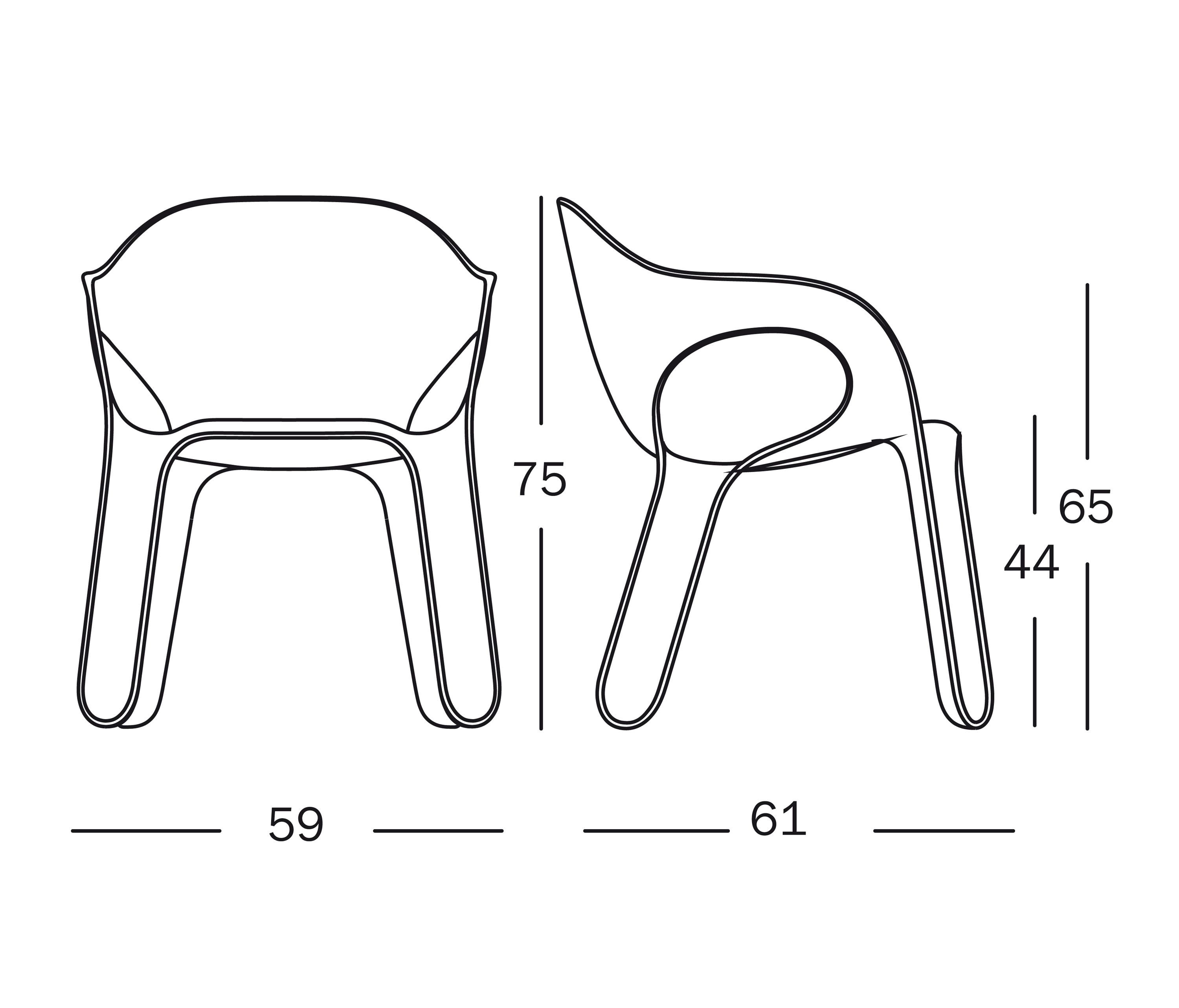 EASY CHAIR Visitors chairs Side chairs from Magis Architonic