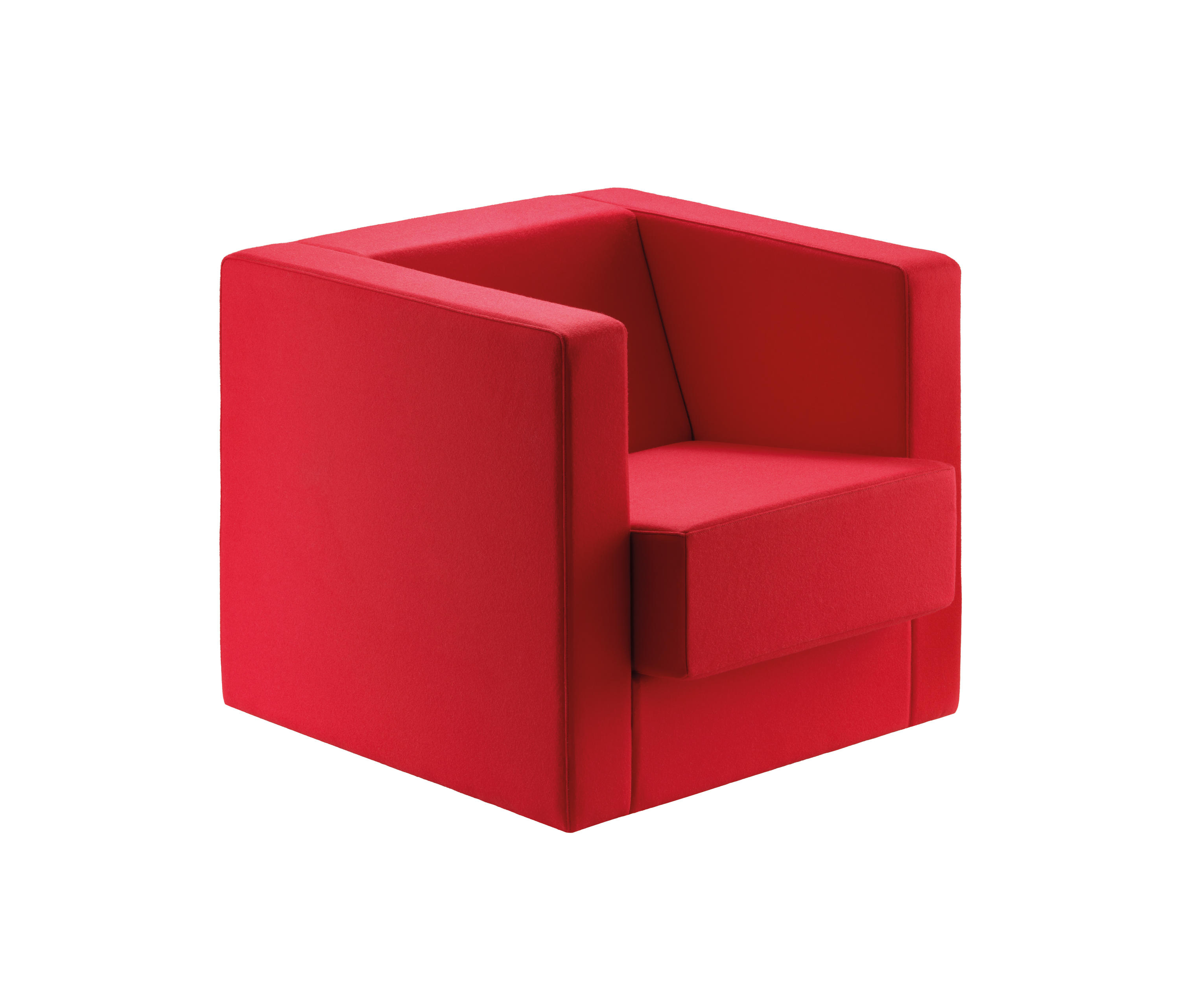 D1 BAUHAUS CUBE ARMCHAIR Lounge chairs from TECTA