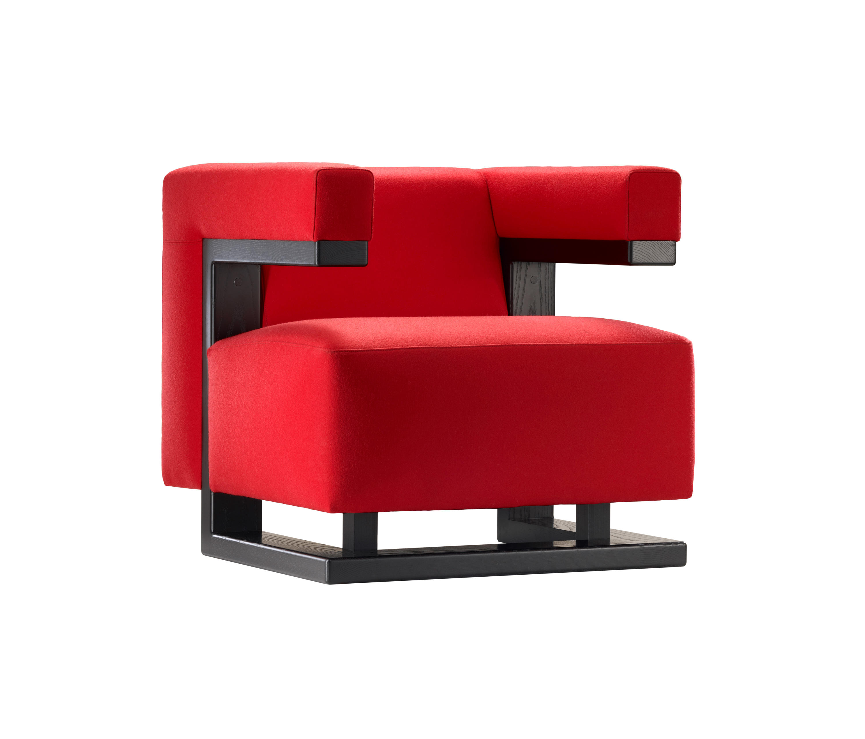 F51 gropius armchair lounge chairs from tecta architonic for Armchair furniture