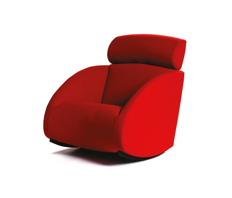 mama armchair sessel baleri italia by hub design - Designer Hangesessel Satala Fuss