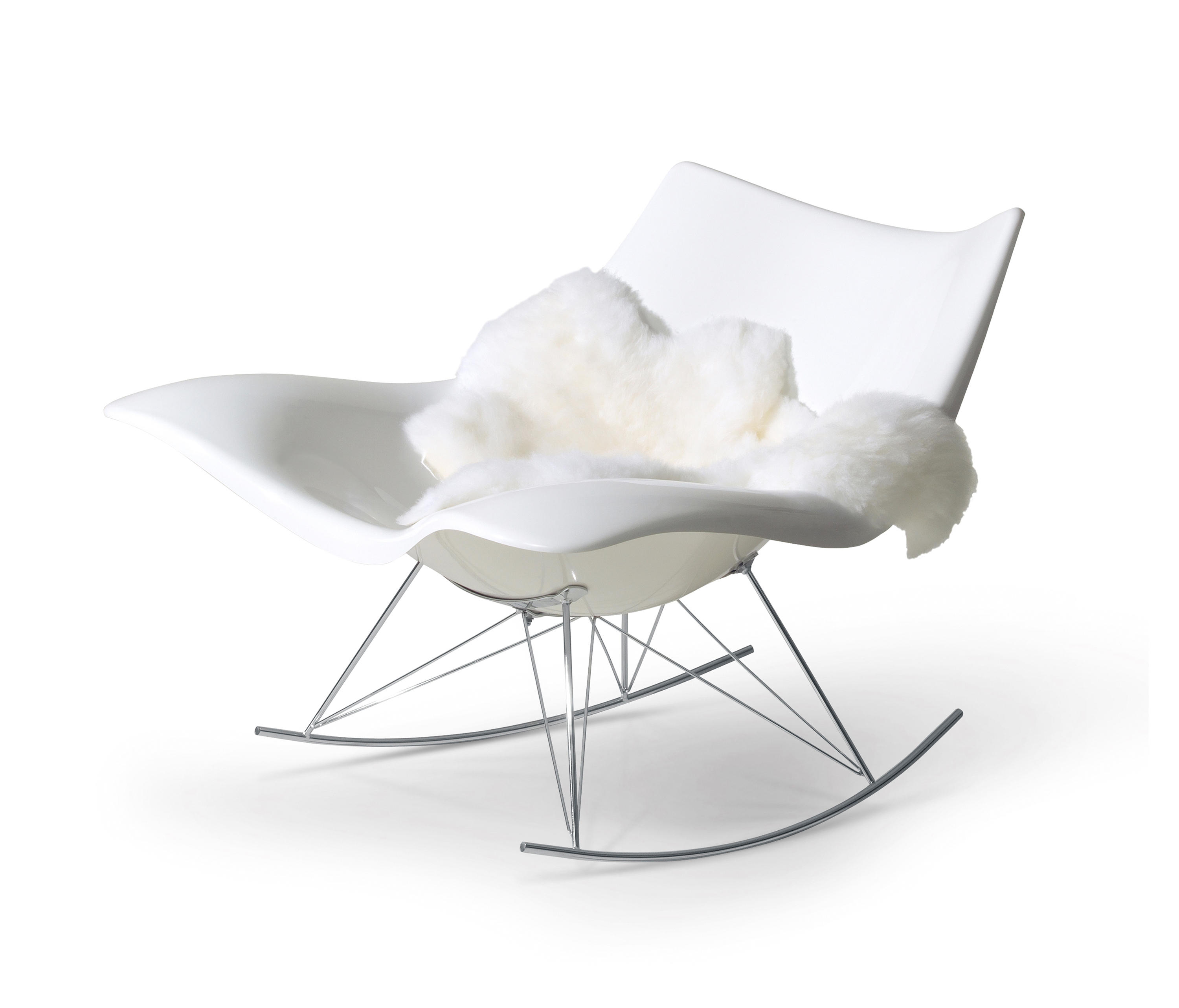 ... Stingray Rocking Chair By Fredericia Furniture | Armchairs ...