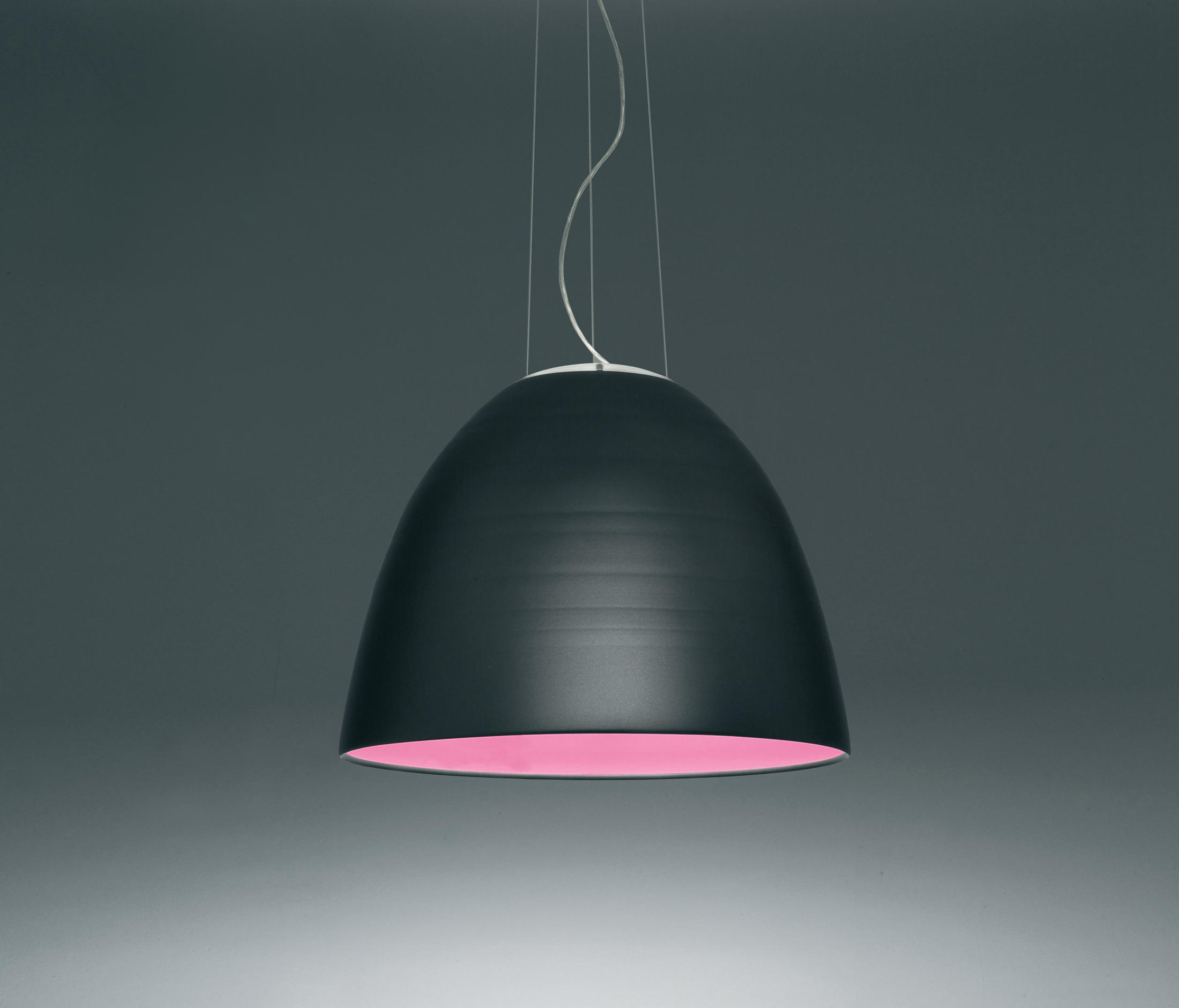 Nur 1618 suspension lamp general lighting from artemide for Suspension 4 lampes