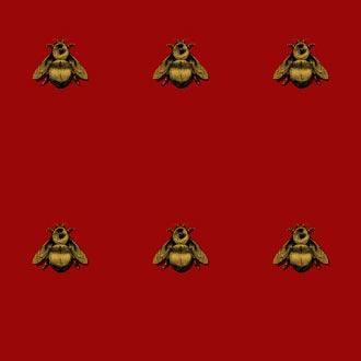NAPOLEON BEE WALLPAPER By Timorous Beasties