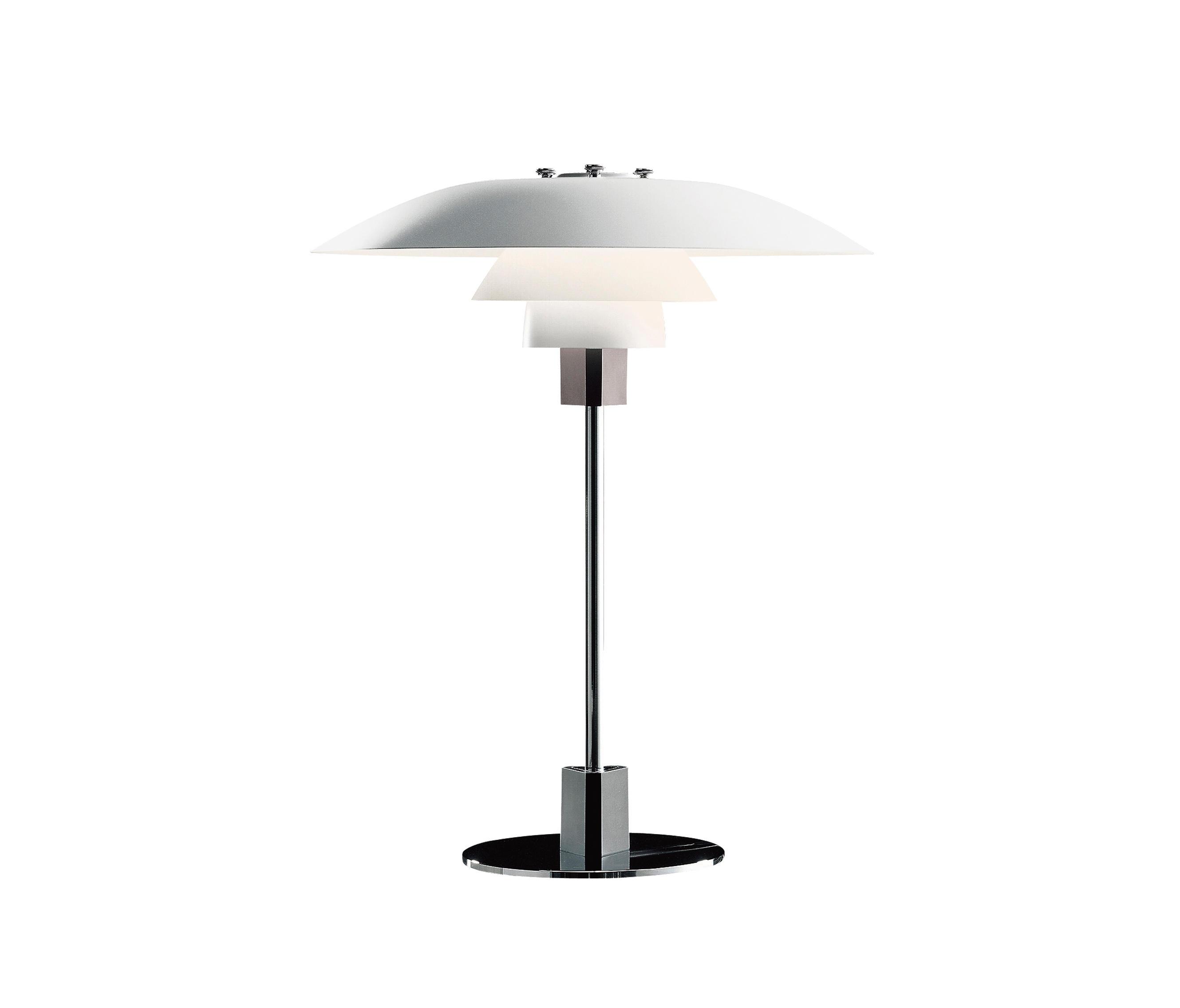 ph 4 3 tischleuchte allgemeinbeleuchtung von louis poulsen architonic. Black Bedroom Furniture Sets. Home Design Ideas