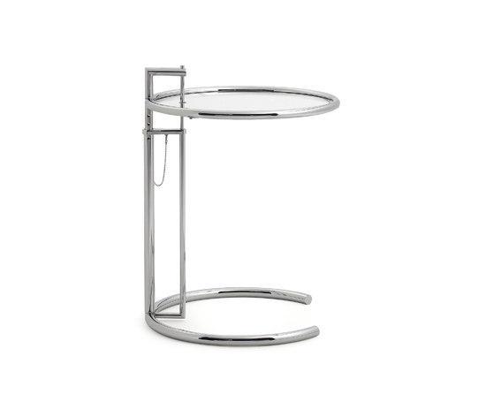 adjustable table e 1027 beistelltische von classicon architonic. Black Bedroom Furniture Sets. Home Design Ideas