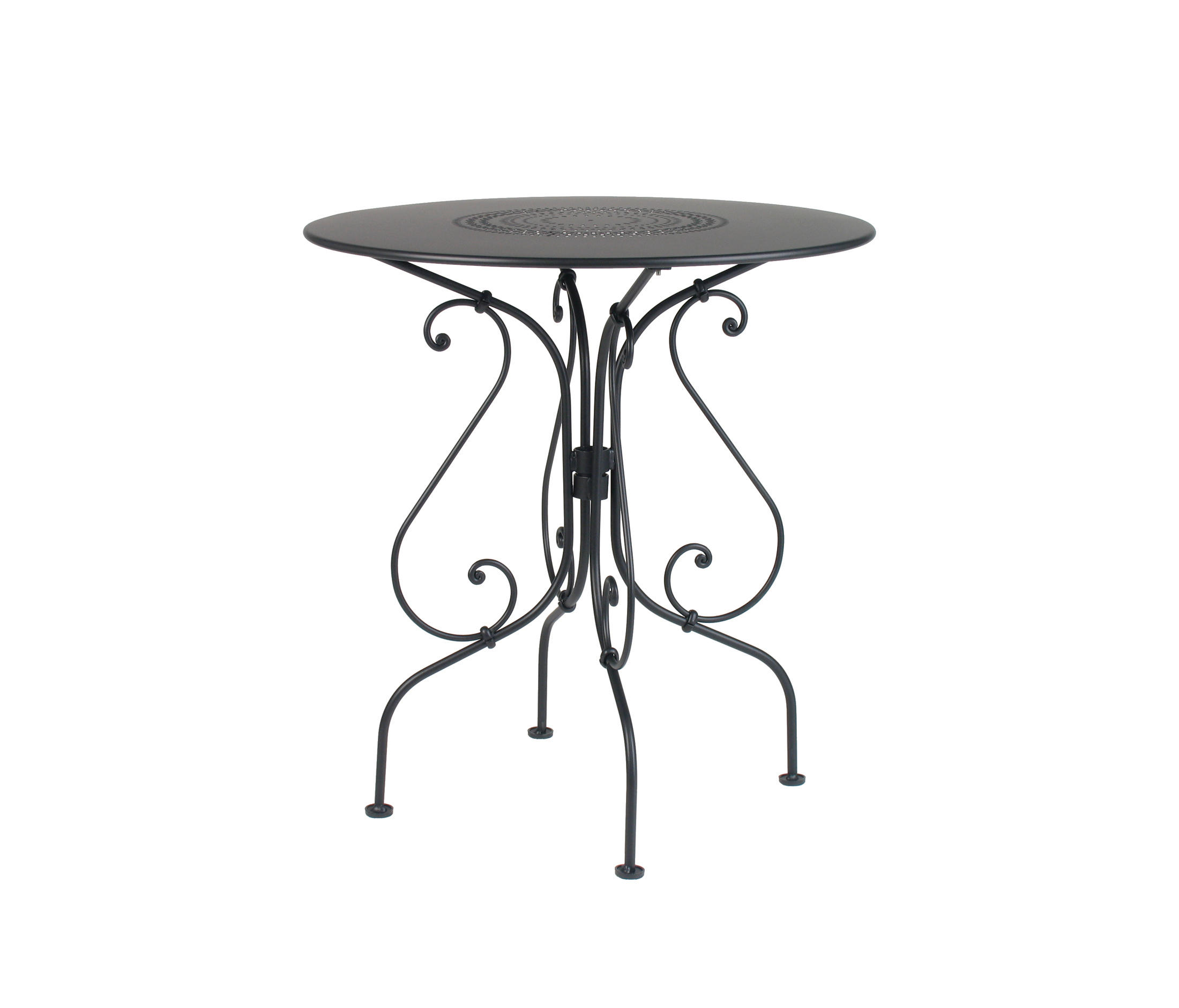 1900 pedestal table 67cm cafeteria tables from fermob. Black Bedroom Furniture Sets. Home Design Ideas