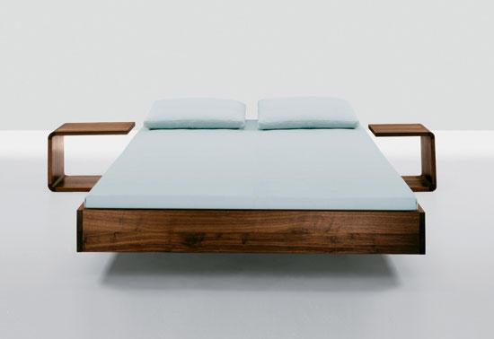simple betten von zeitraum architonic. Black Bedroom Furniture Sets. Home Design Ideas