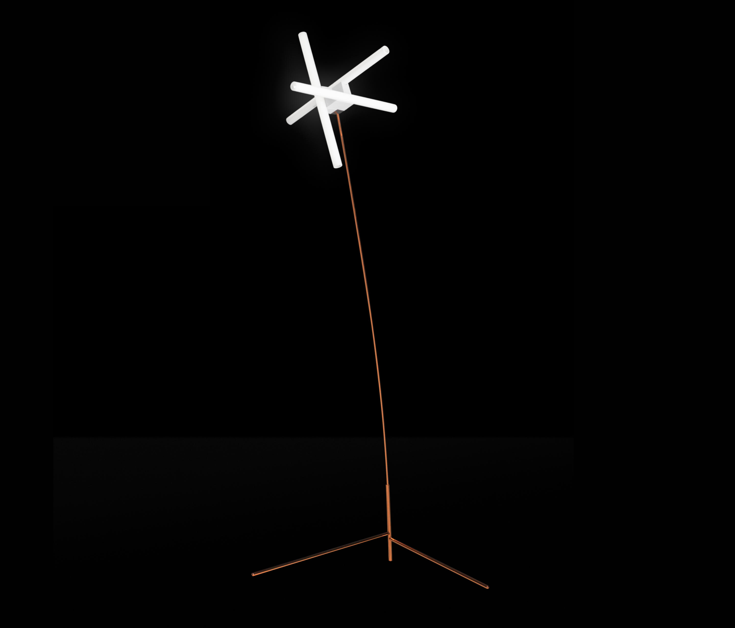 Olvidada floor lamp general lighting from bd barcelona for Barcelona 3 light floor lamp