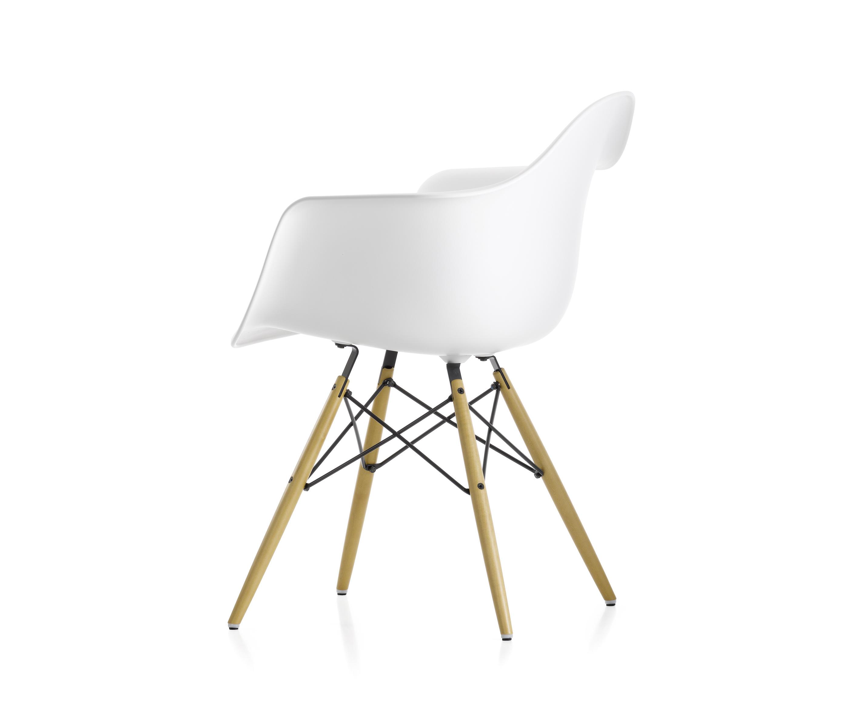 Eames Plastic Armchair Daw Chaises De Vitra Architonic