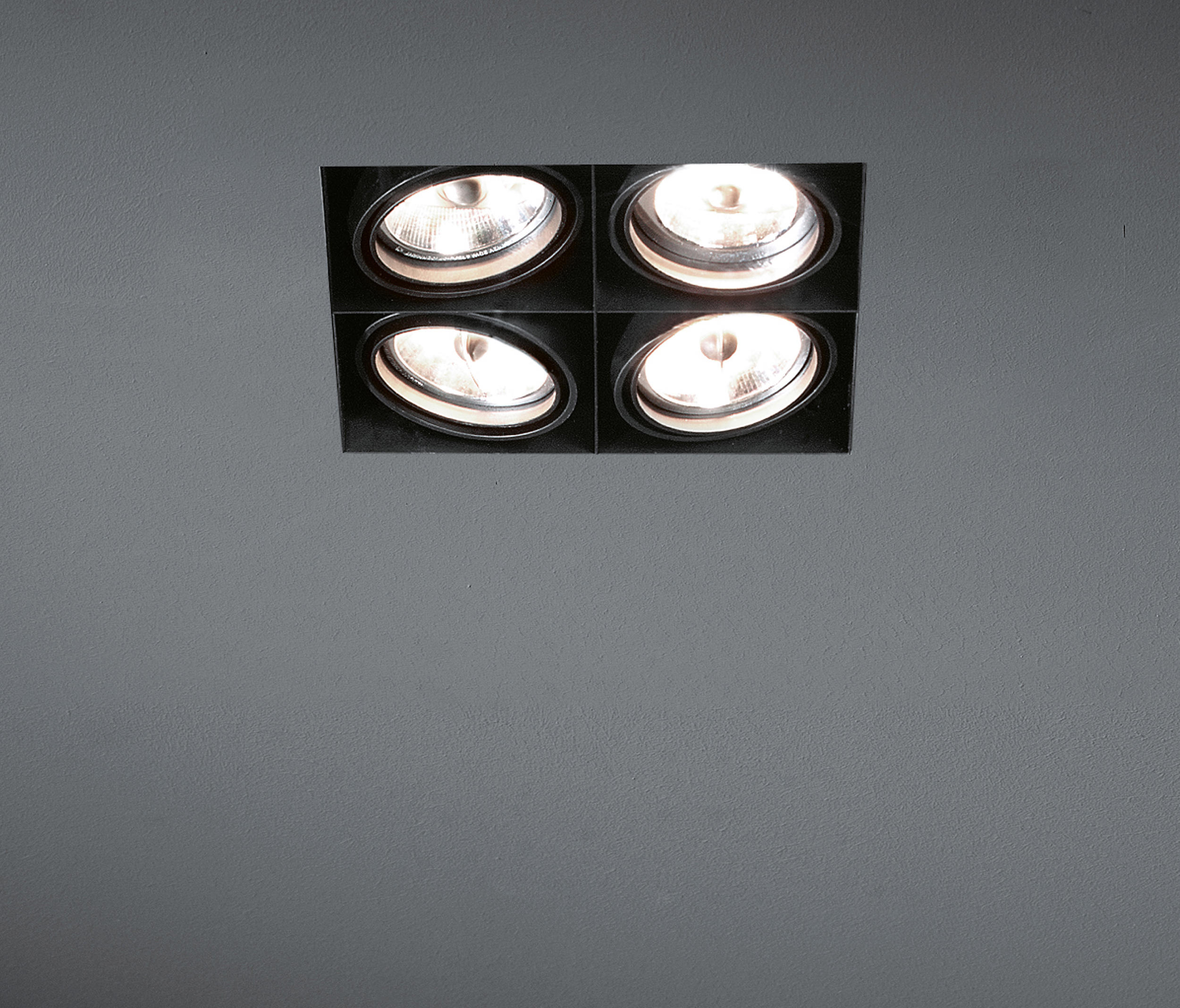 MINI MULTIPLE TRIMLESS 4X AR70 GE - Recessed ceiling lights from ...