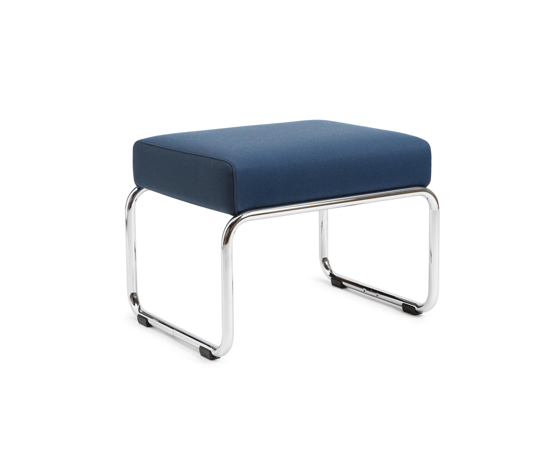 hocker blau cool mckinley dreibein hocker with hocker. Black Bedroom Furniture Sets. Home Design Ideas