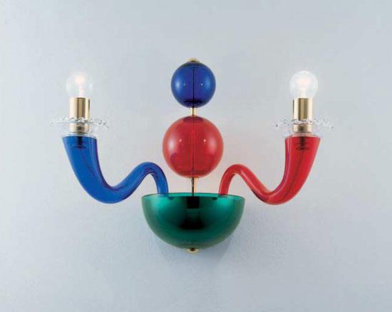 Collezione 99.80 multicolore lampade parete venini architonic