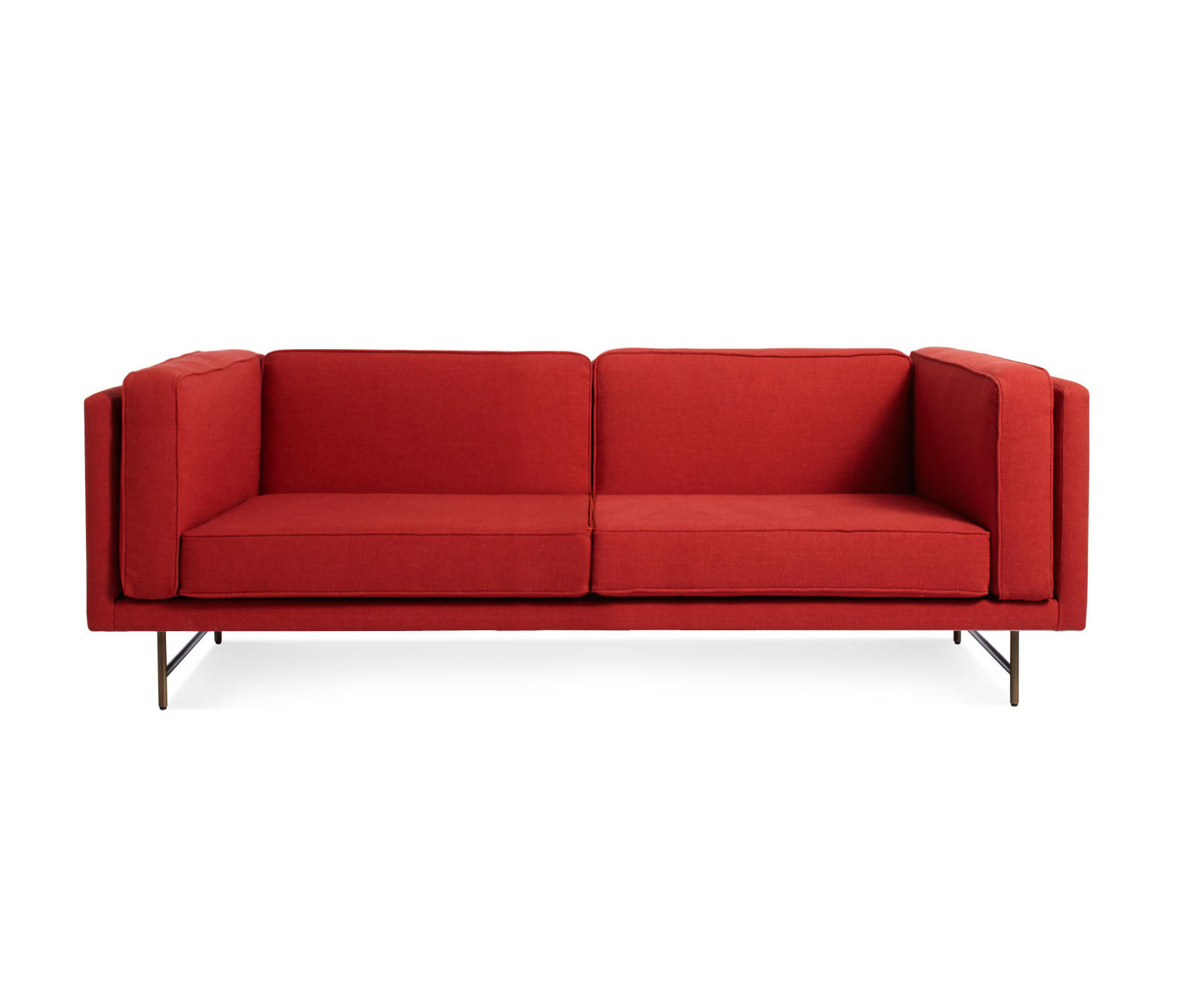 Bank 80 sofa sof s lounge de blu dot architonic for 80 inch couch