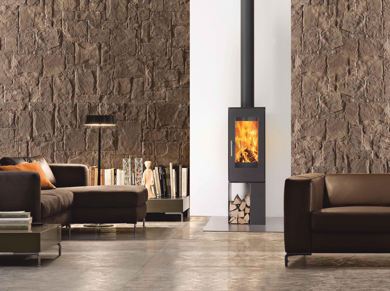 Q-BIC 127 - Wood burning stoves from Attika Feuer | Architonic