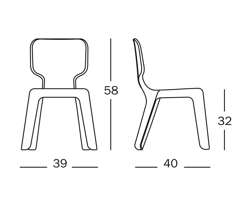 Merveilleux ... Alma Chair By Magis | Kids Chairs