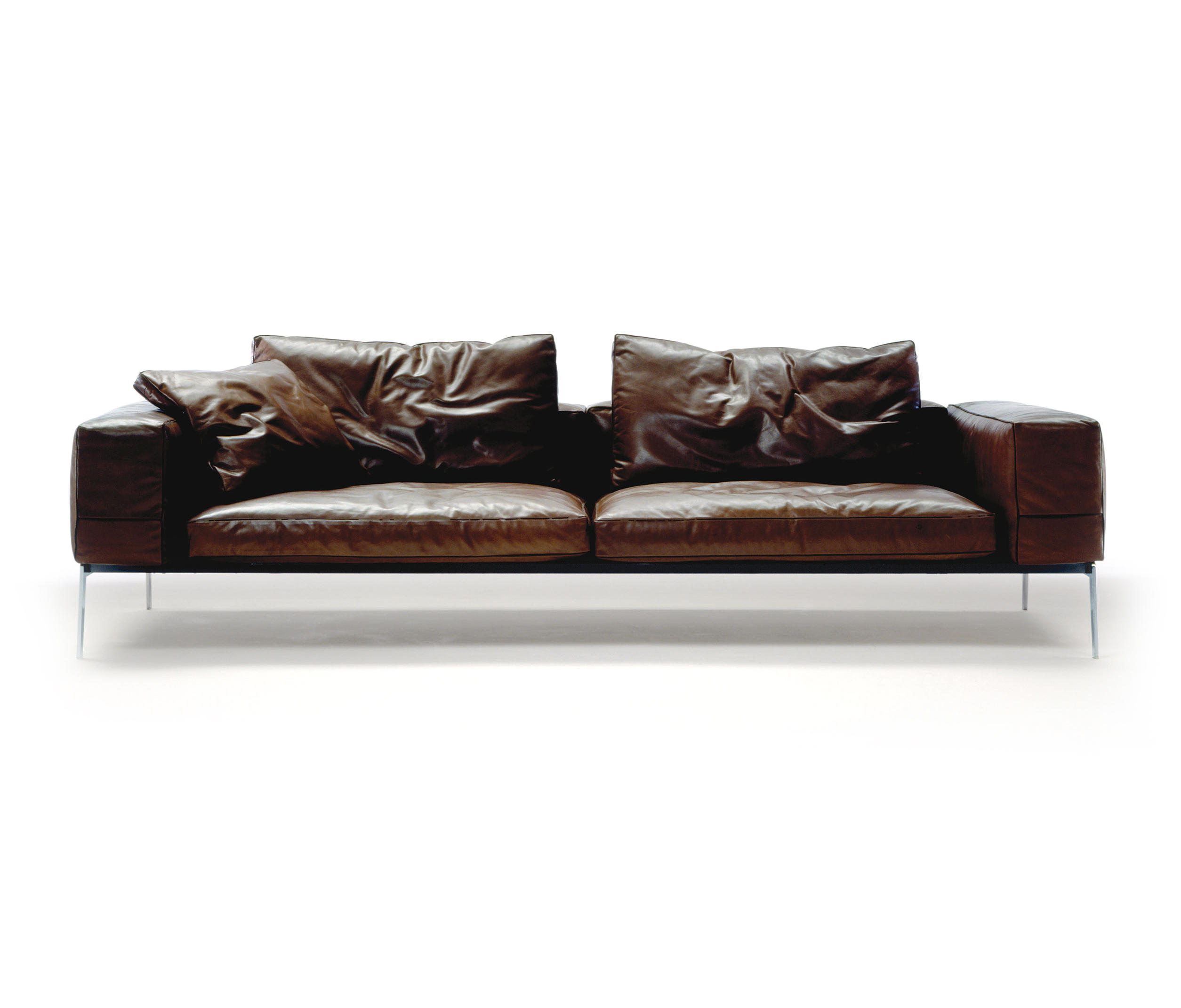 lifesteel loungesofas von flexform architonic. Black Bedroom Furniture Sets. Home Design Ideas
