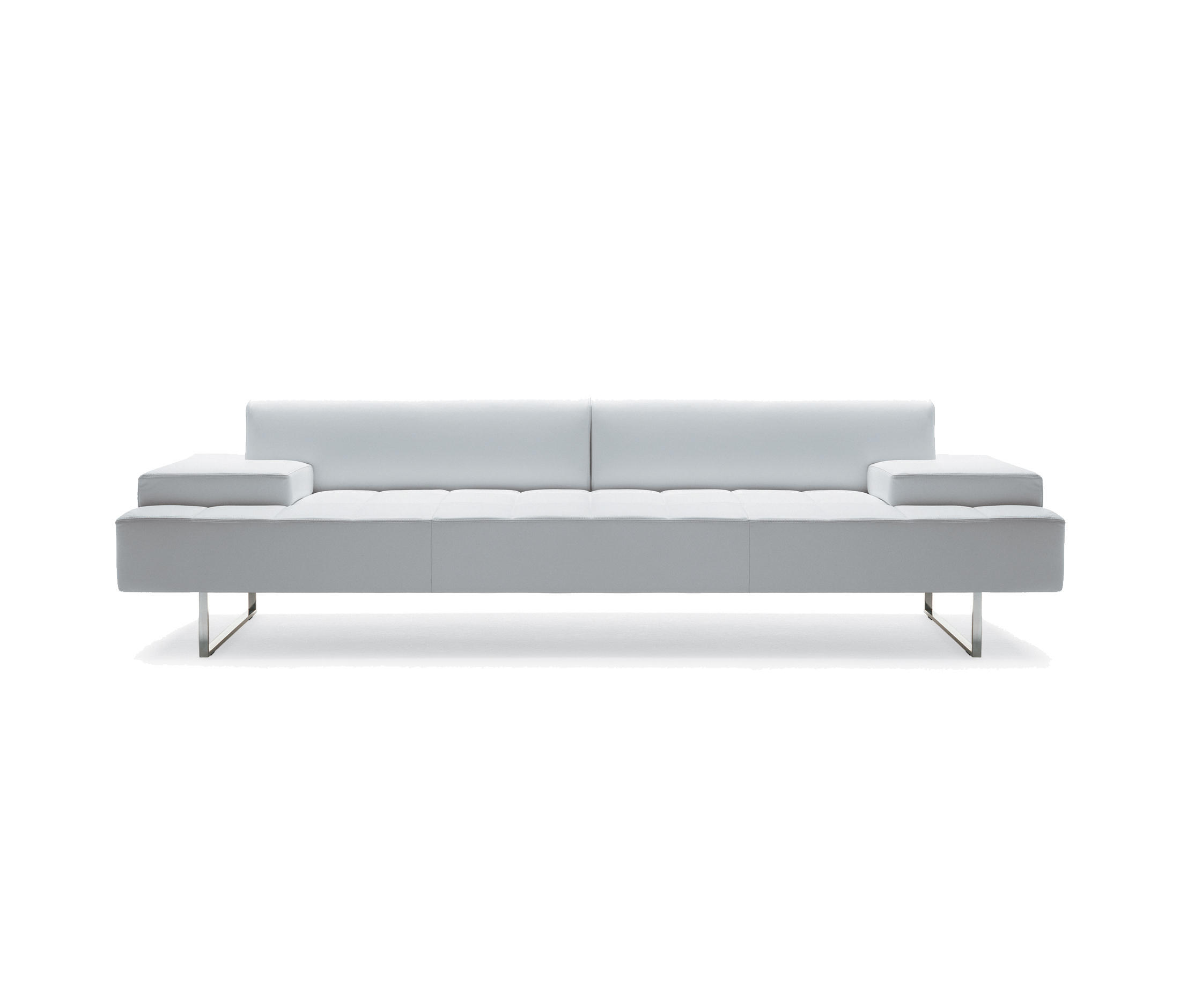 quadra sofas from poltrona frau architonic. Black Bedroom Furniture Sets. Home Design Ideas