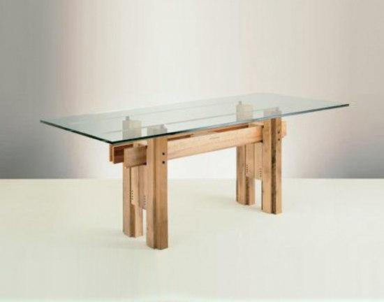 Cangrande 454 455 tavoli pranzo bernini architonic for Bernini arredamento