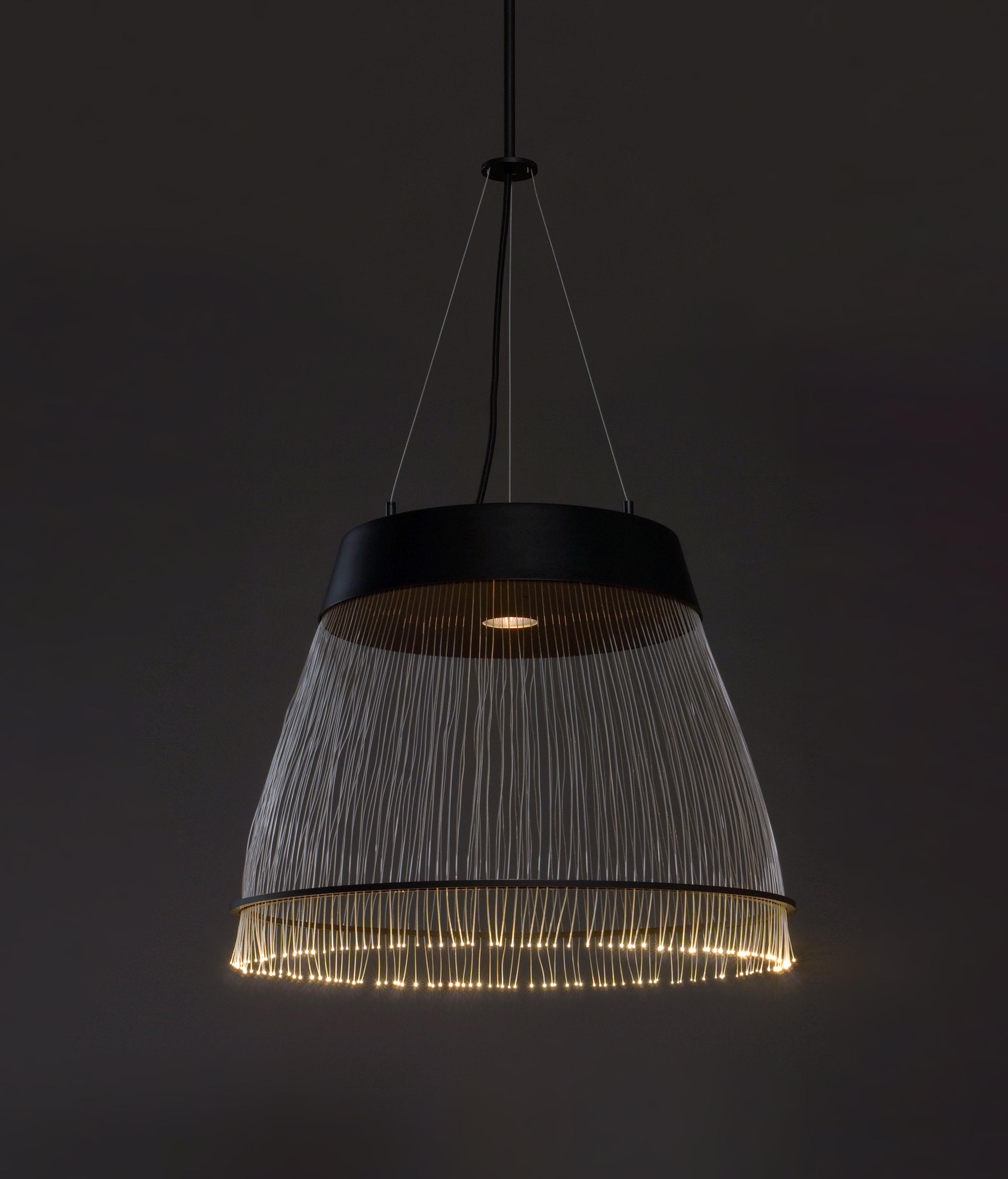 Black fiber pendant general lighting from refer staer architonic black fiber pendant by refer staer general lighting arubaitofo Images