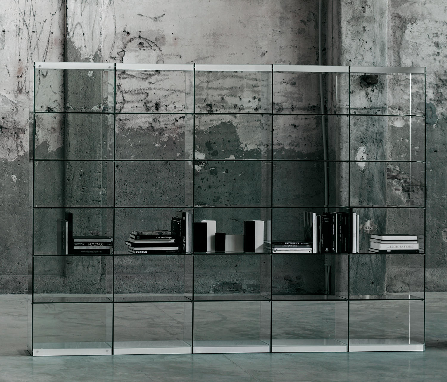 Space Shelving From Glas Italia Architonic