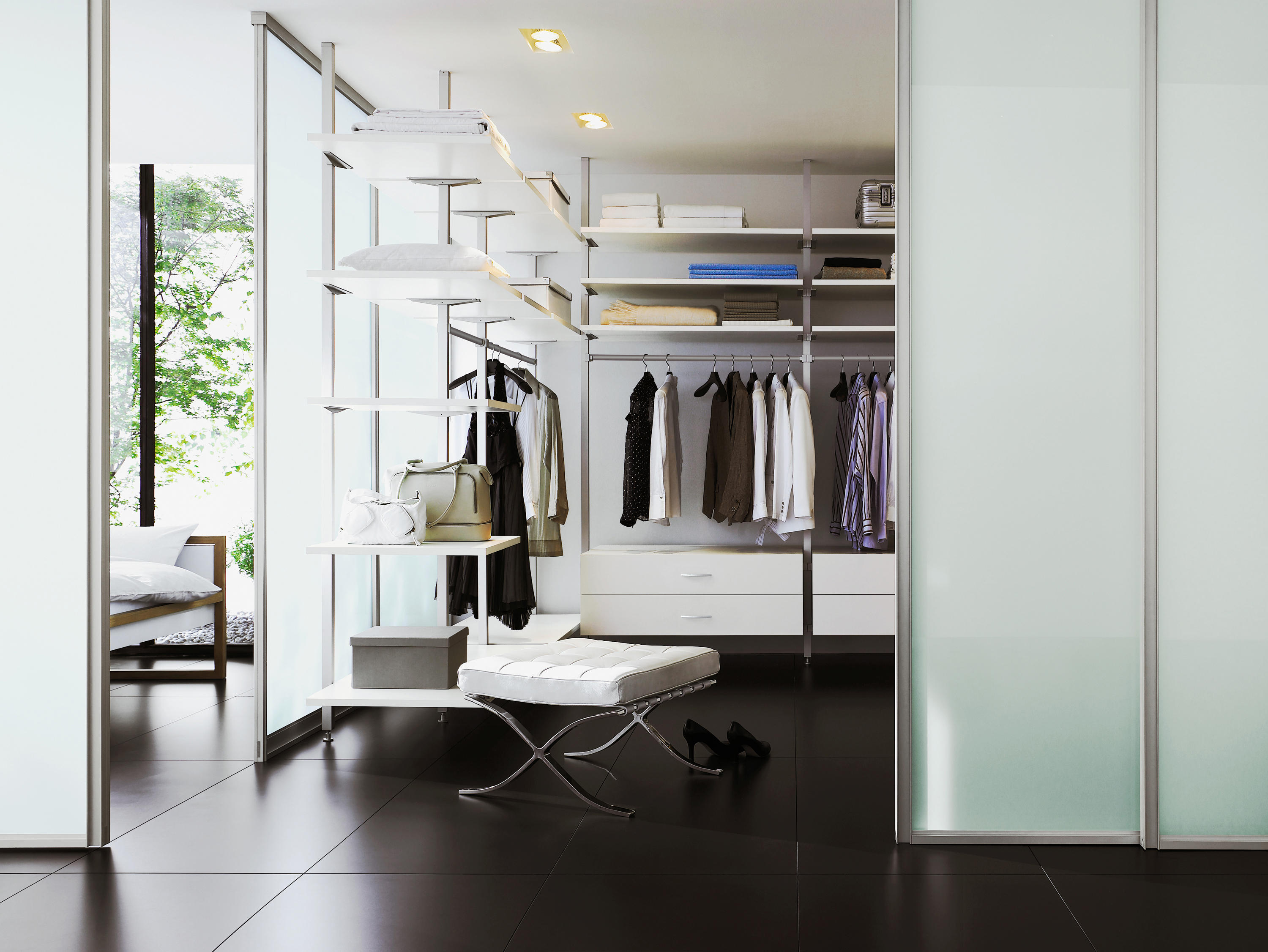 Uno Interior Closet Storage System Walk In Wardrobes Raumplus