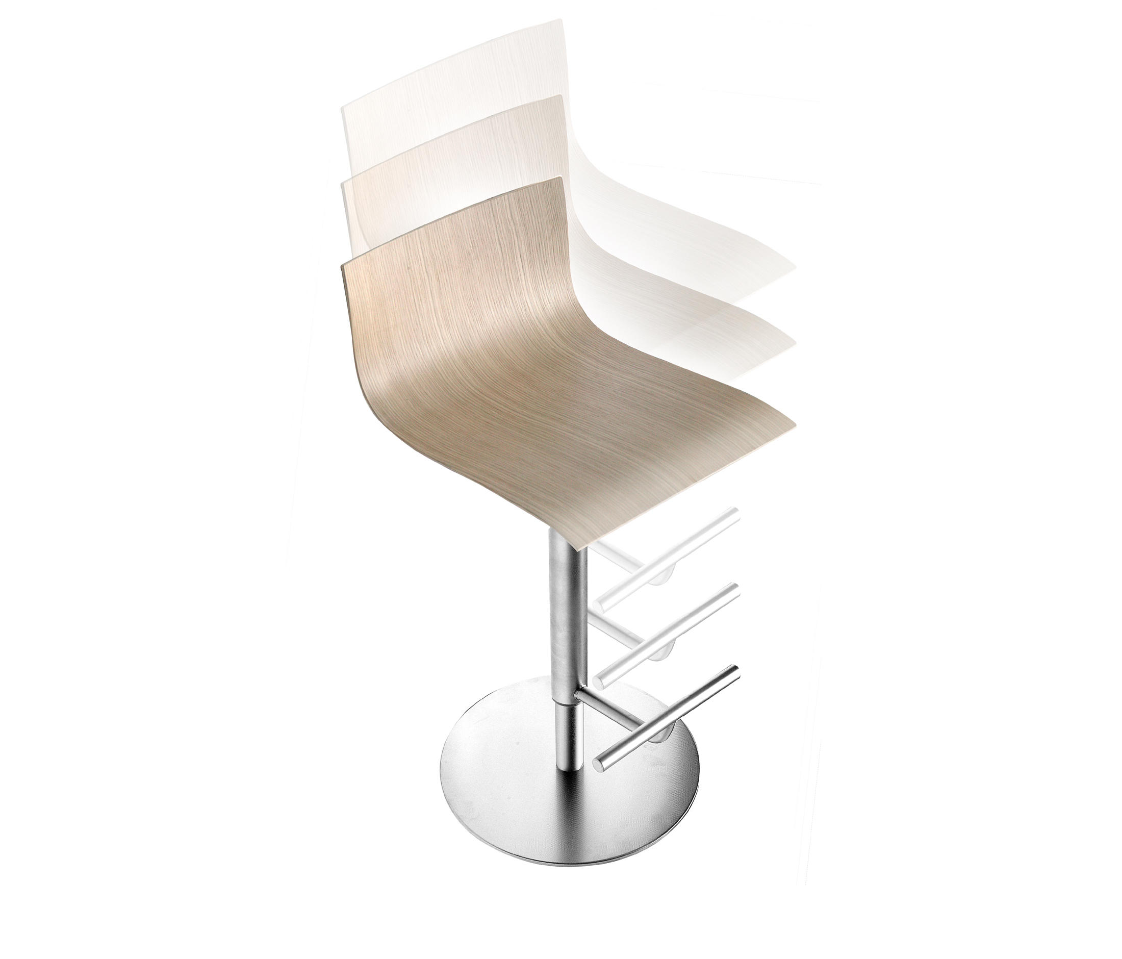Awesome Thin Stool Bar Stools From Lapalma Architonic Squirreltailoven Fun Painted Chair Ideas Images Squirreltailovenorg