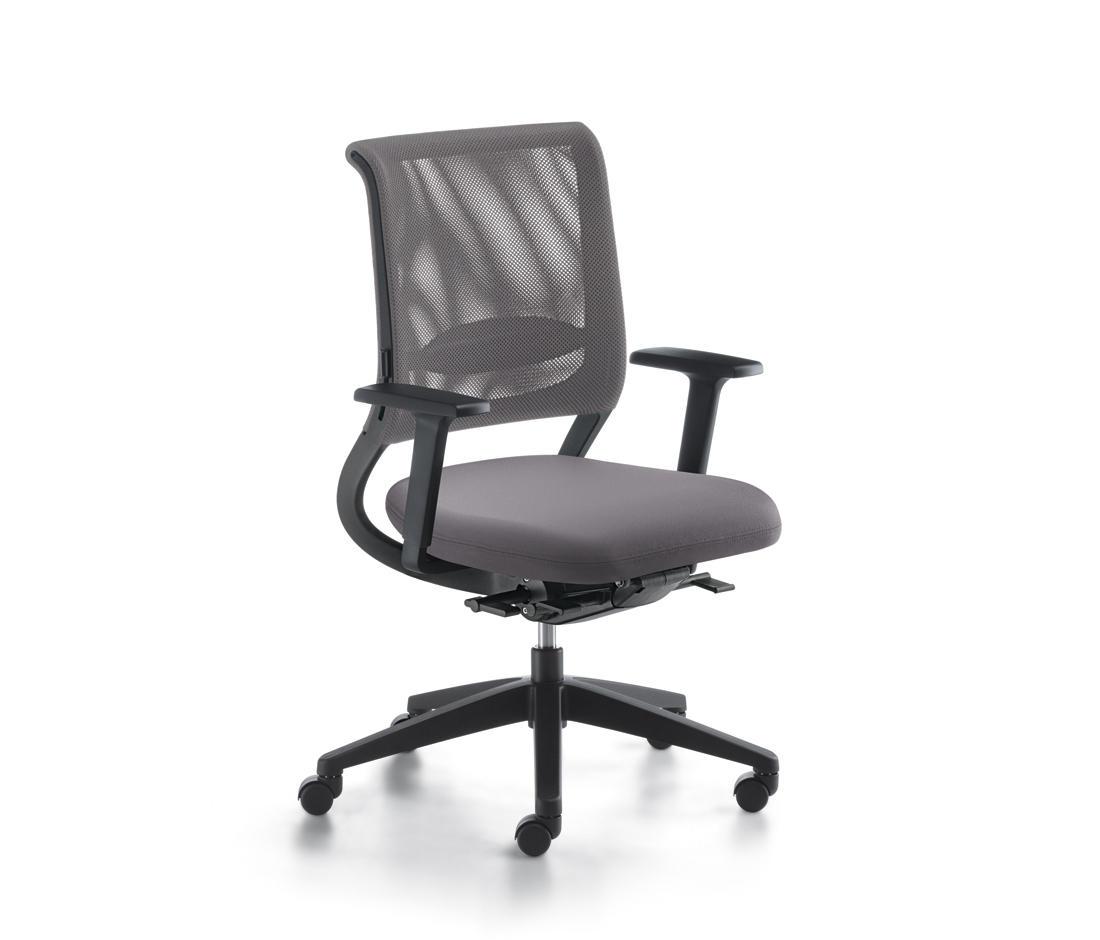 Netwin chaises de travail de sedus stoll architonic for Chaise de travail