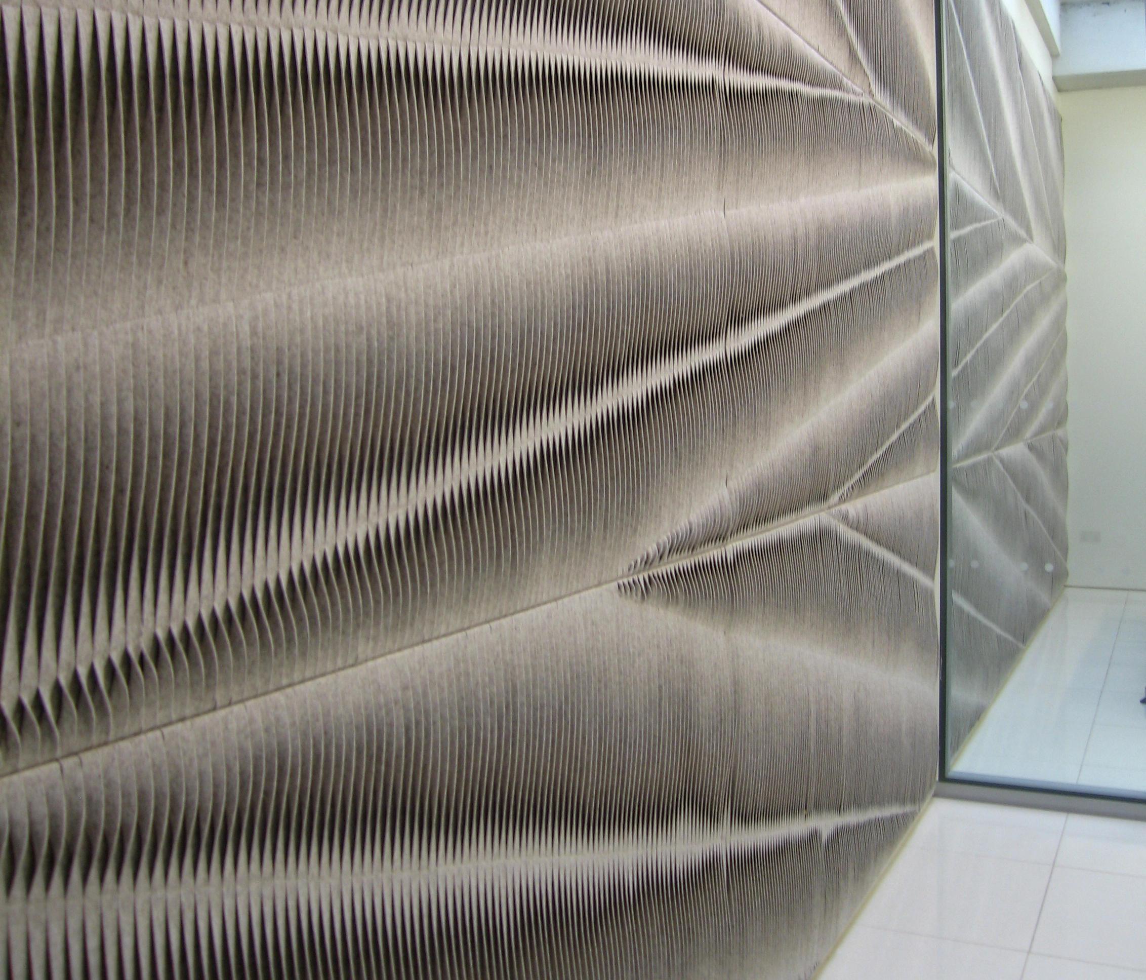Wall Fabrics Product : Leaf wall panel bespoke fabrics from anne kyyrÖ quinn