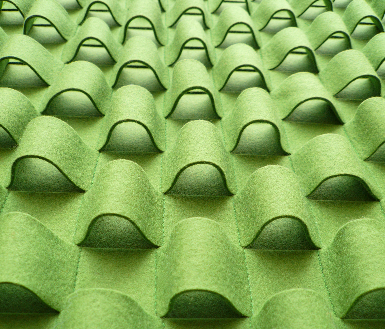 Wall Fabrics Product : Loop wall panel bespoke fabrics from anne kyyrÖ quinn