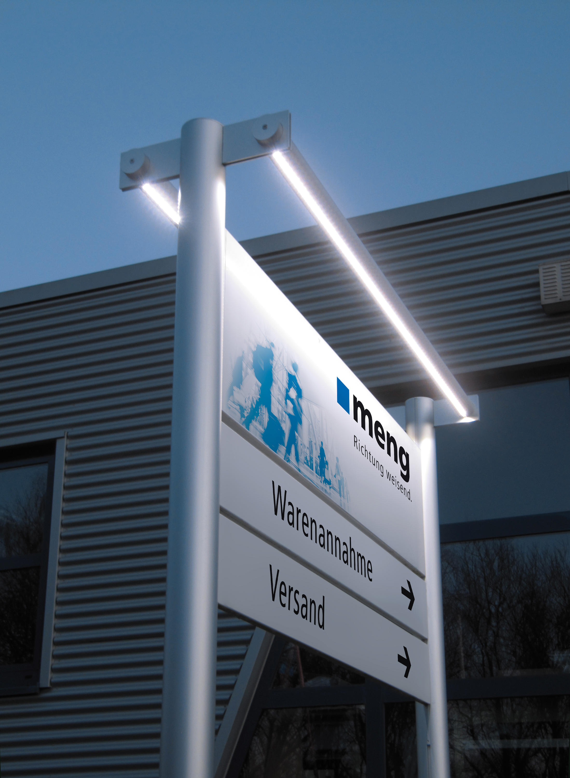 Tube Panel Outdoor Signs Architonic