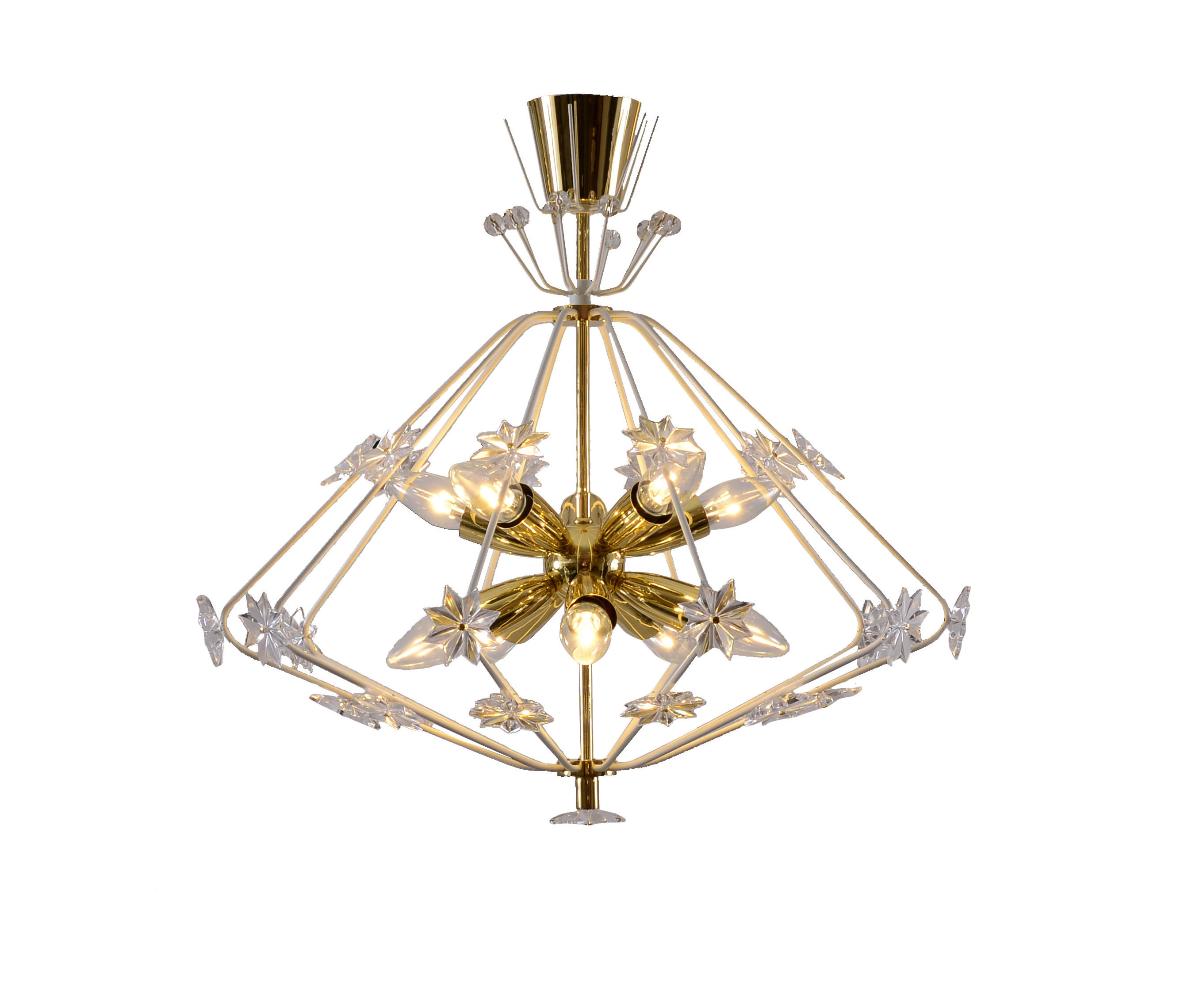 Snowflake chandelier general lighting from woka architonic snowflake chandelier by woka general lighting mozeypictures Choice Image