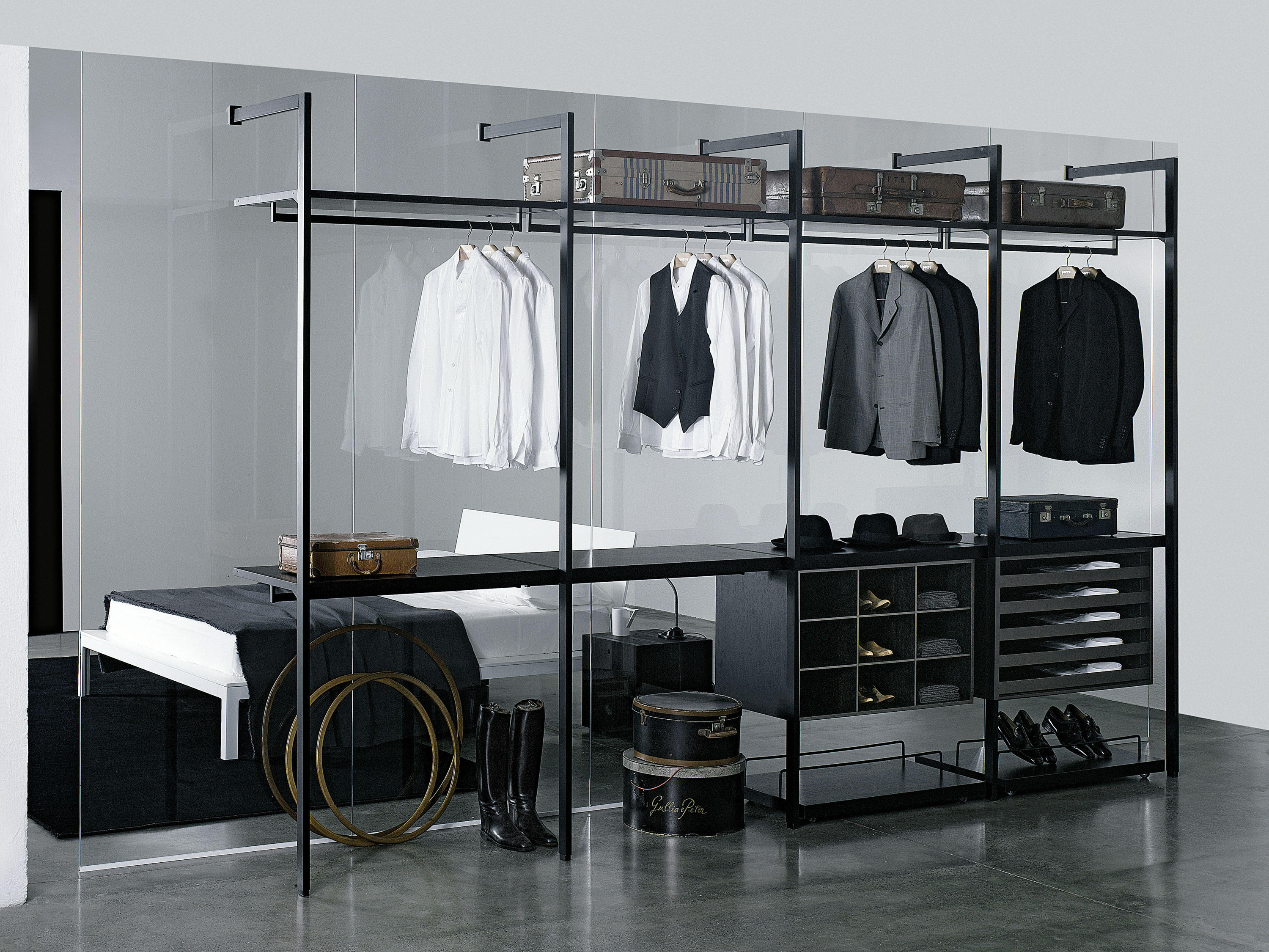 Custom Closets For Men. Storage Cabina Armadio By Porro Custom Closets For  Men