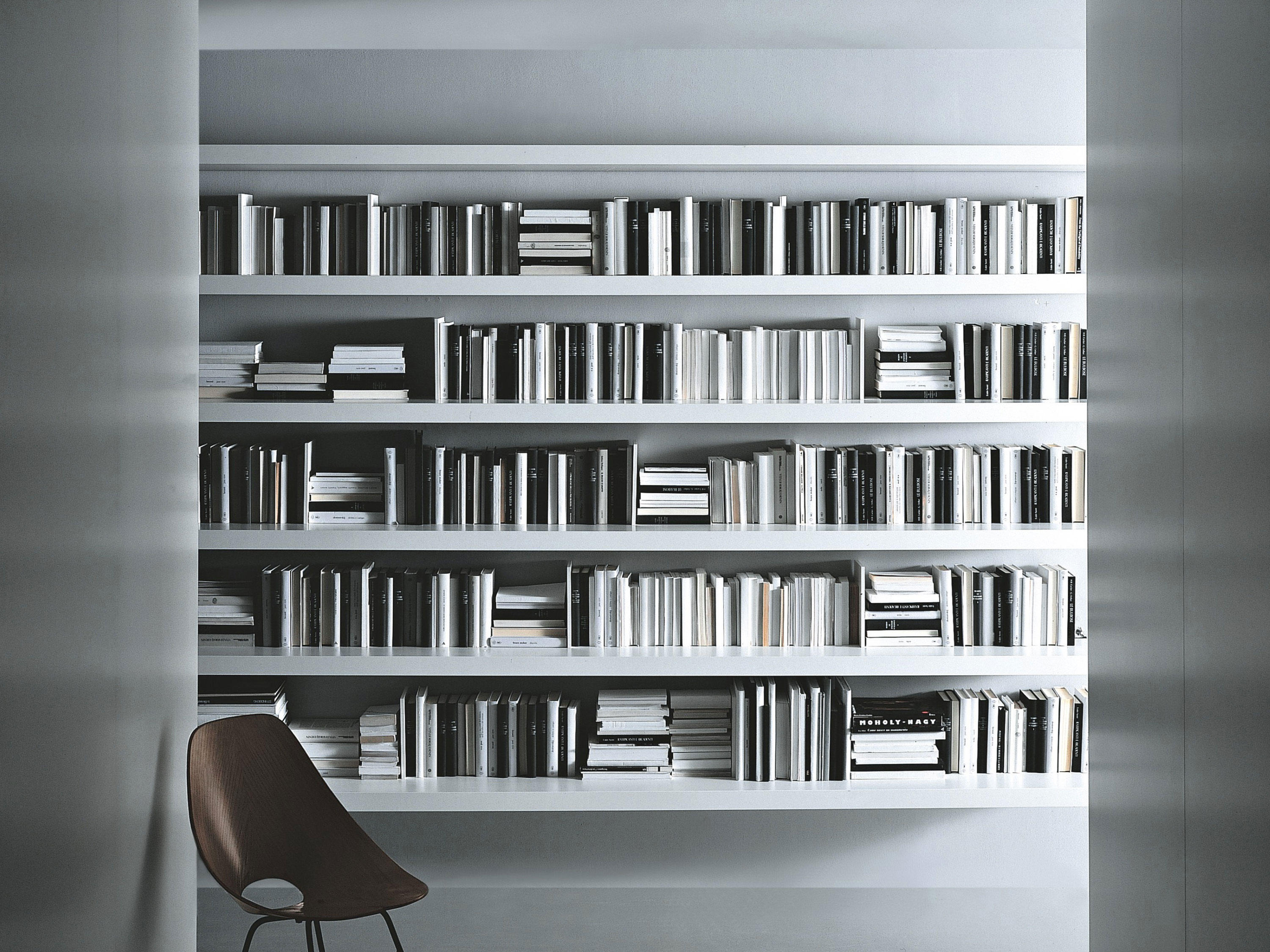 slider bookcase office shelving systems from porro. Black Bedroom Furniture Sets. Home Design Ideas