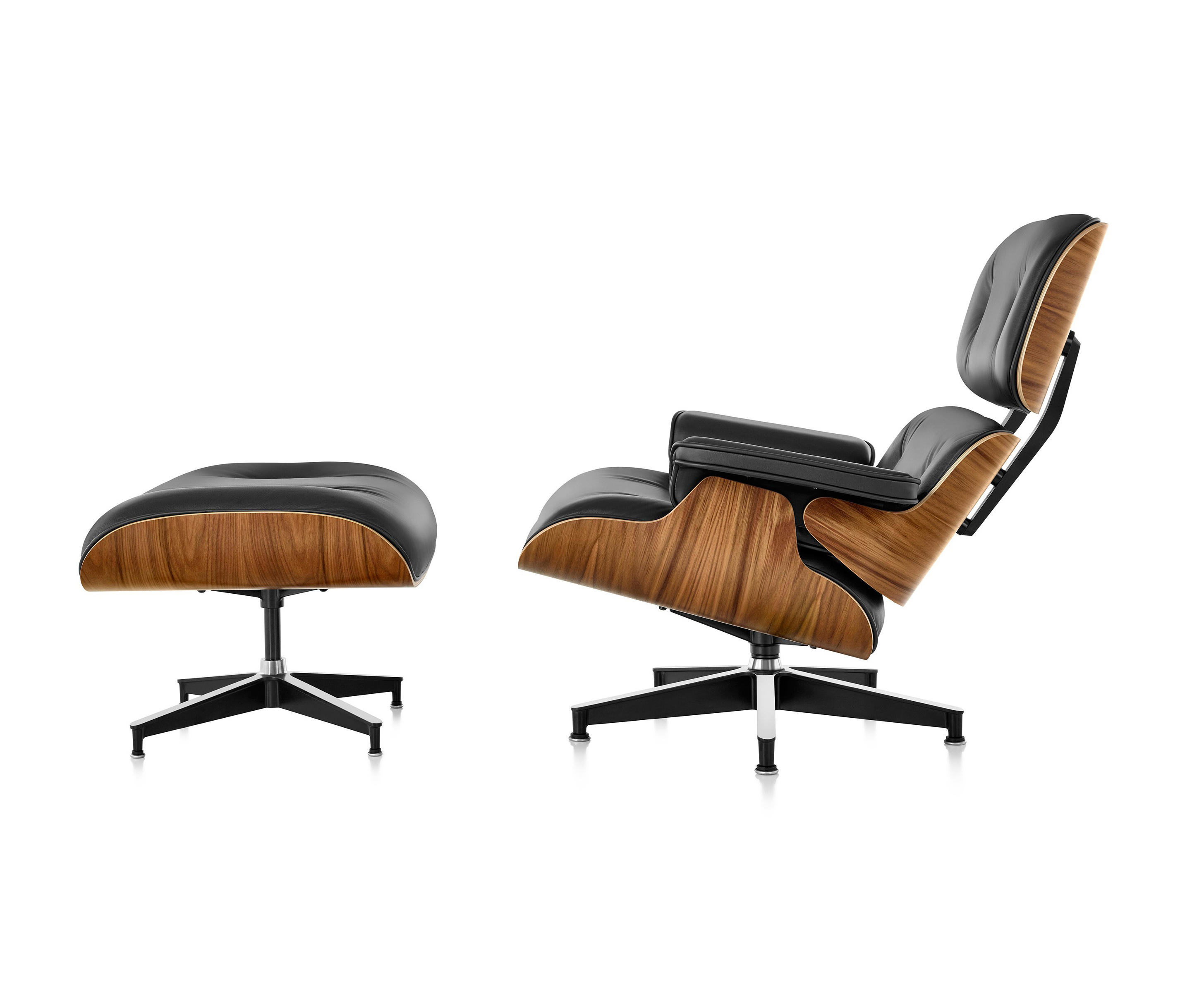 eames lounge chair and ottoman lounge chairs from herman miller architonic. Black Bedroom Furniture Sets. Home Design Ideas