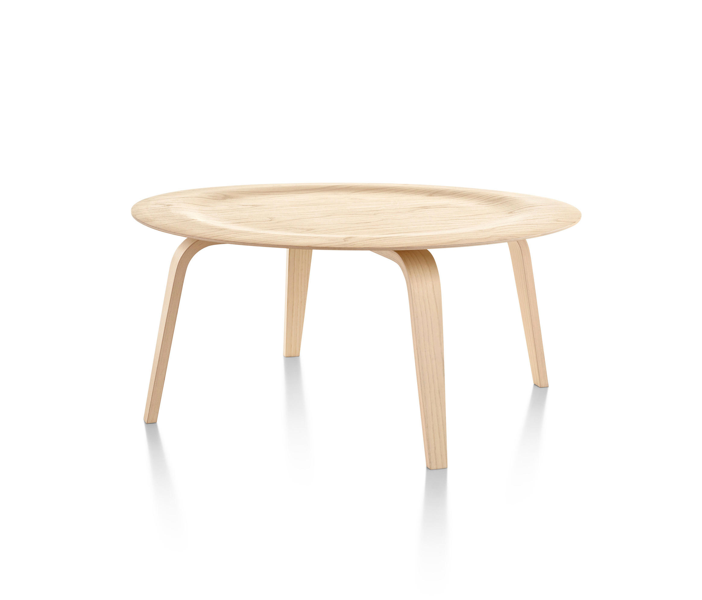 Genial Eames Molded Plywood Coffee Table Wood Base By Herman Miller | Lounge Tables