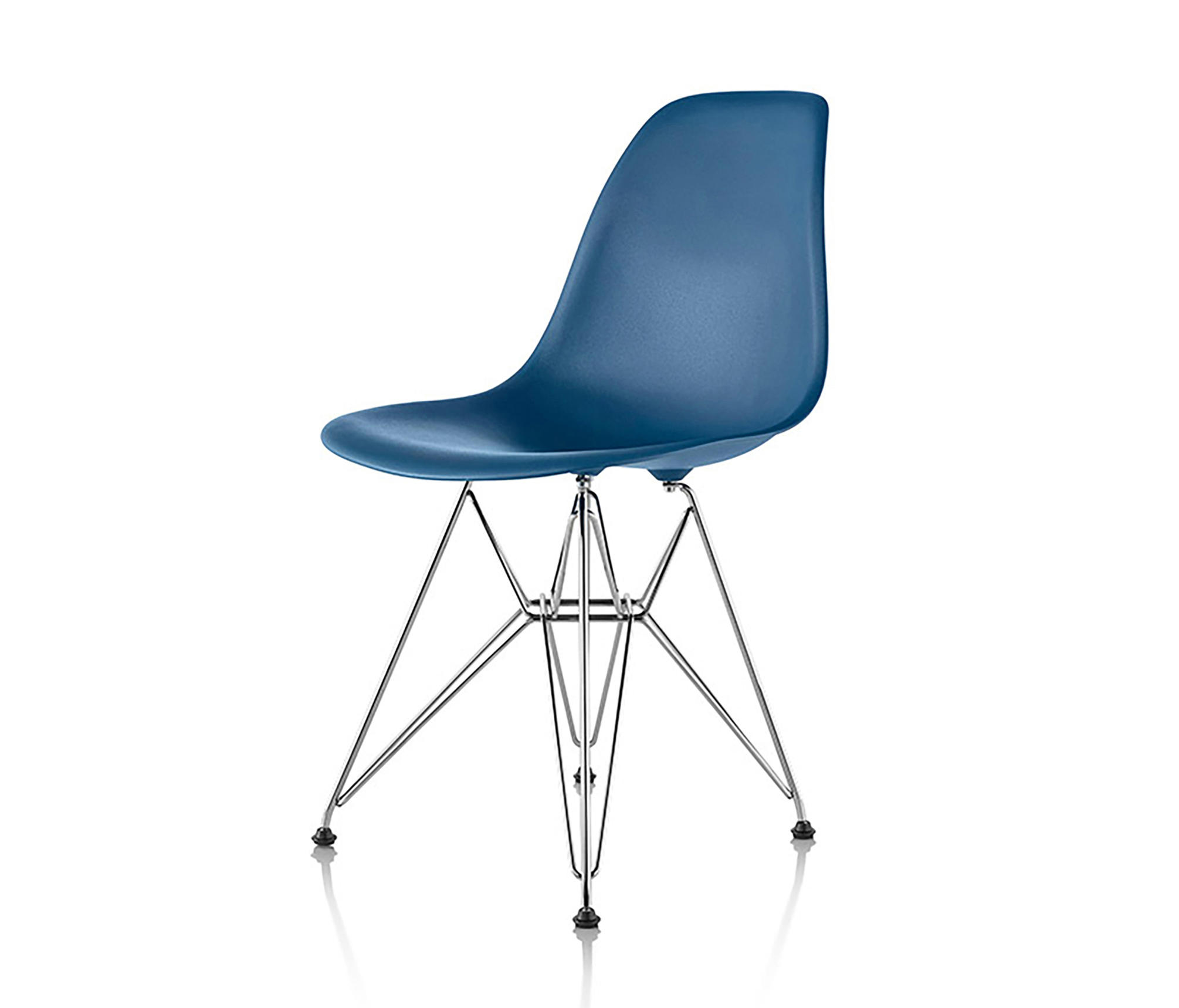 Eames Molded Plastic Side Chair By Herman Miller | Restaurant Chairs