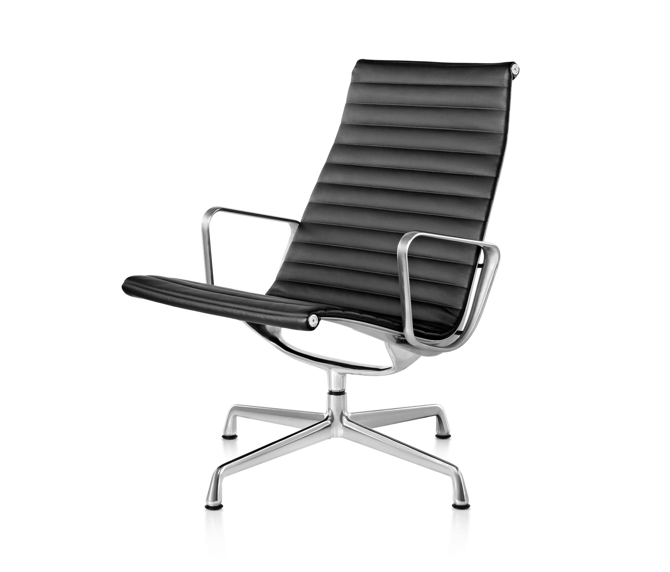 Eames Aluminum Group Lounge Chair Armchairs From Herman