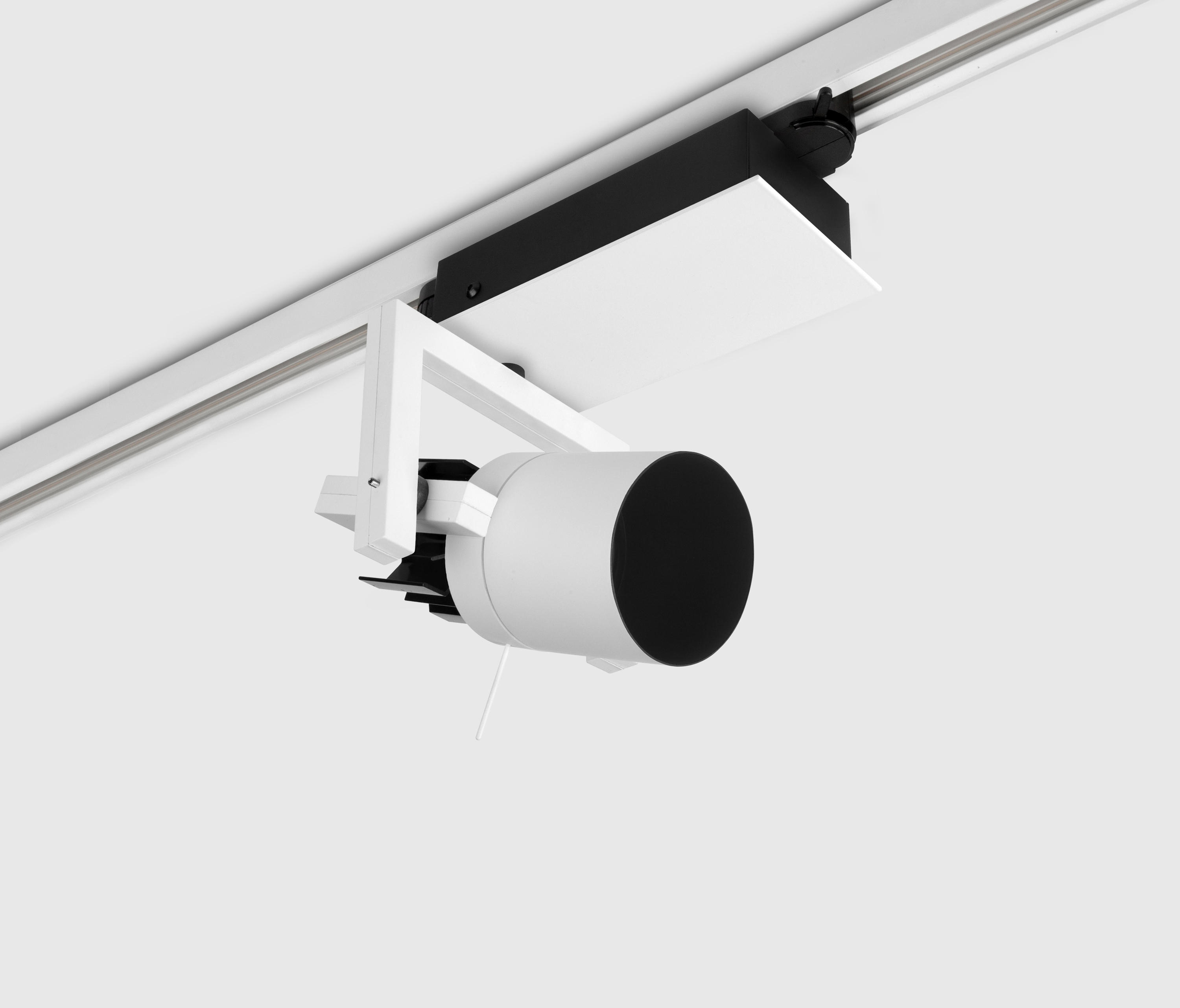 Diapason small on track track lighting from kreon for Tiny track lighting