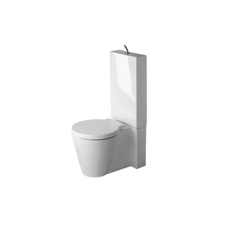 starck 1 toilet close coupled toilets from duravit. Black Bedroom Furniture Sets. Home Design Ideas