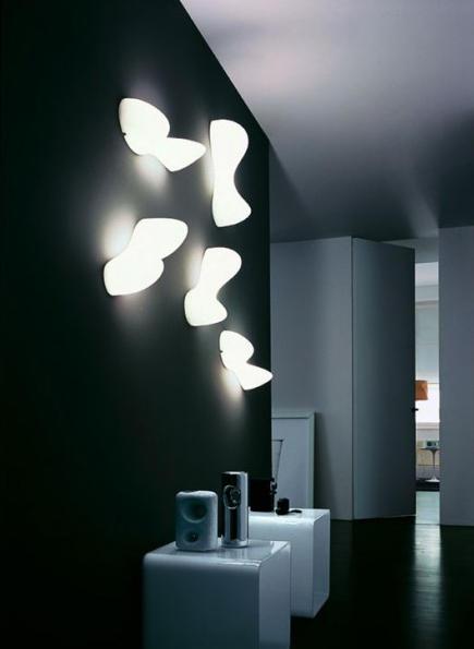 blob s wandleuchte wandleuchten von foscarini architonic. Black Bedroom Furniture Sets. Home Design Ideas