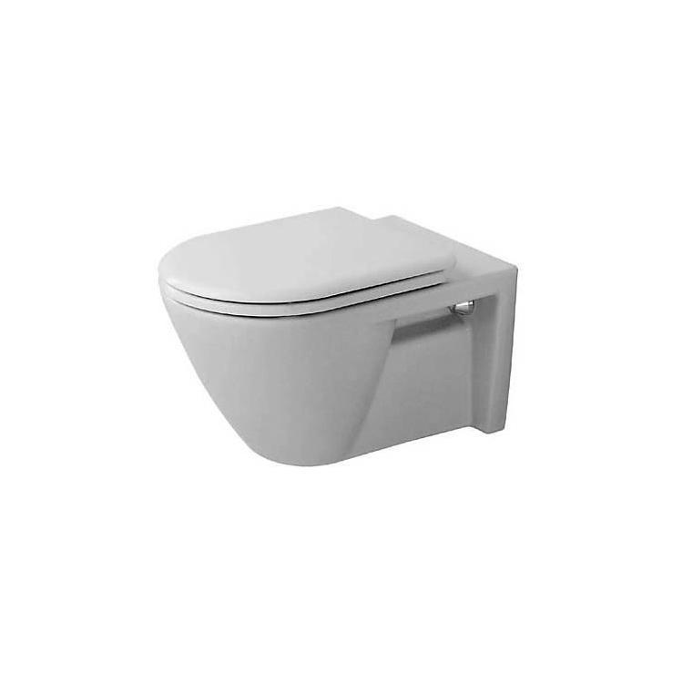 starck 2 inodoro suspendido inodoros de duravit. Black Bedroom Furniture Sets. Home Design Ideas