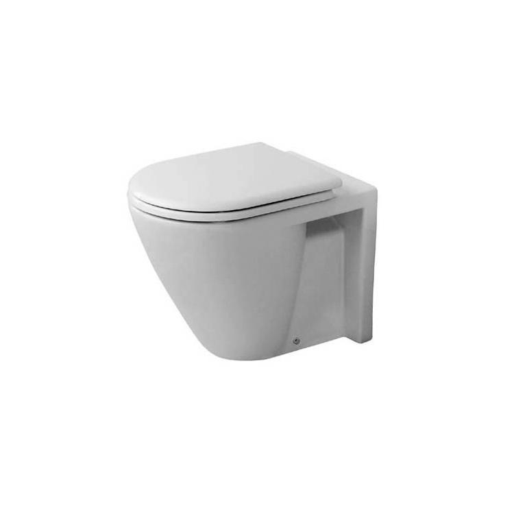 starck 2 toilet floor standing toilets from duravit architonic. Black Bedroom Furniture Sets. Home Design Ideas