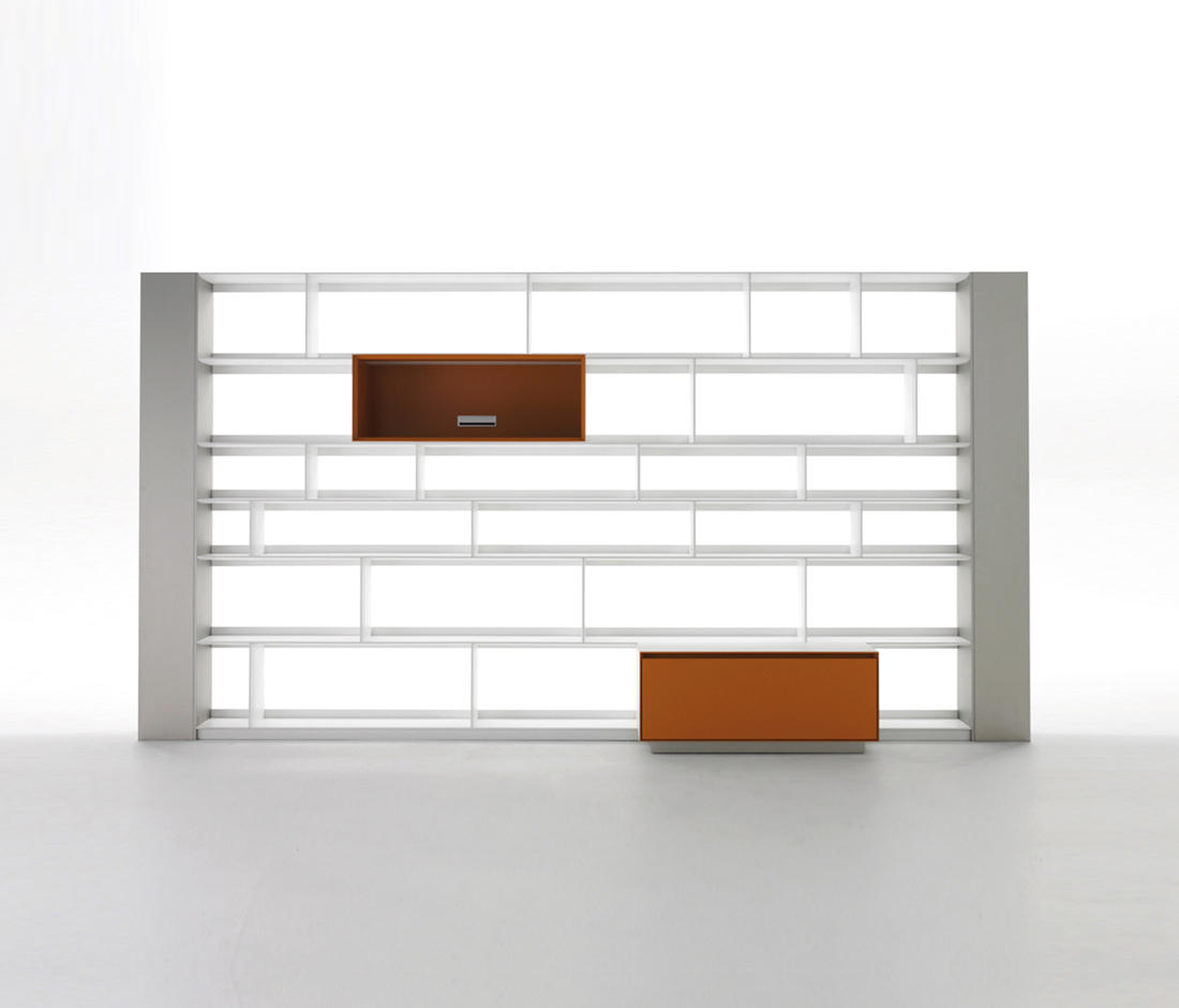 Flat C Shelving From B Amp B Italia Architonic