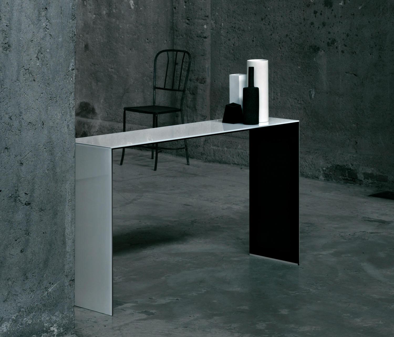 Sio2 Bridge Konsole Console Tables From Glas Italia