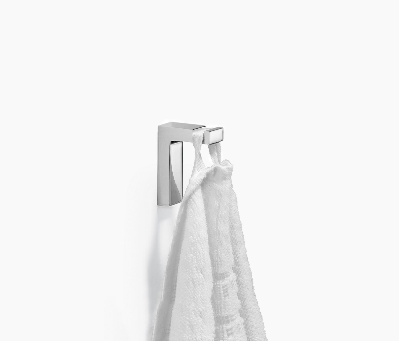 elemental spa hook towel hooks from dornbracht architonic. Black Bedroom Furniture Sets. Home Design Ideas