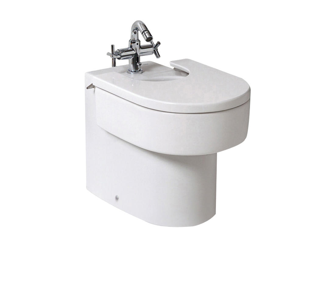 Happening bidet bidets from roca architonic for Roca happening