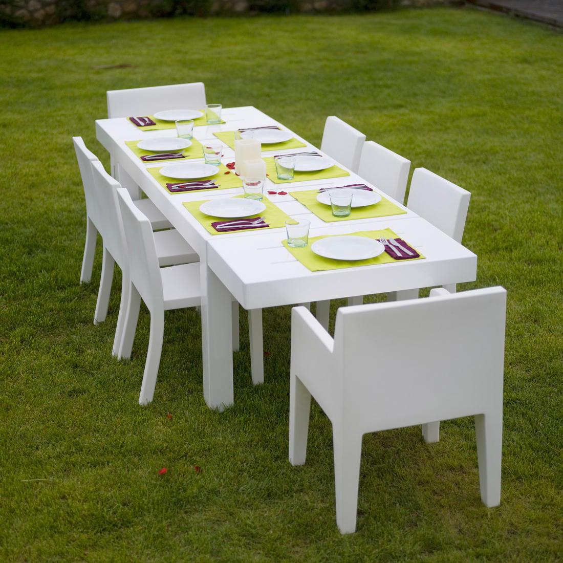 Jut Table 280 Tavoli Da Pranzo Da Giardino Di Vondom Architonic #505A10 1100 1100 Produttori Di Tavoli Da Pranzo