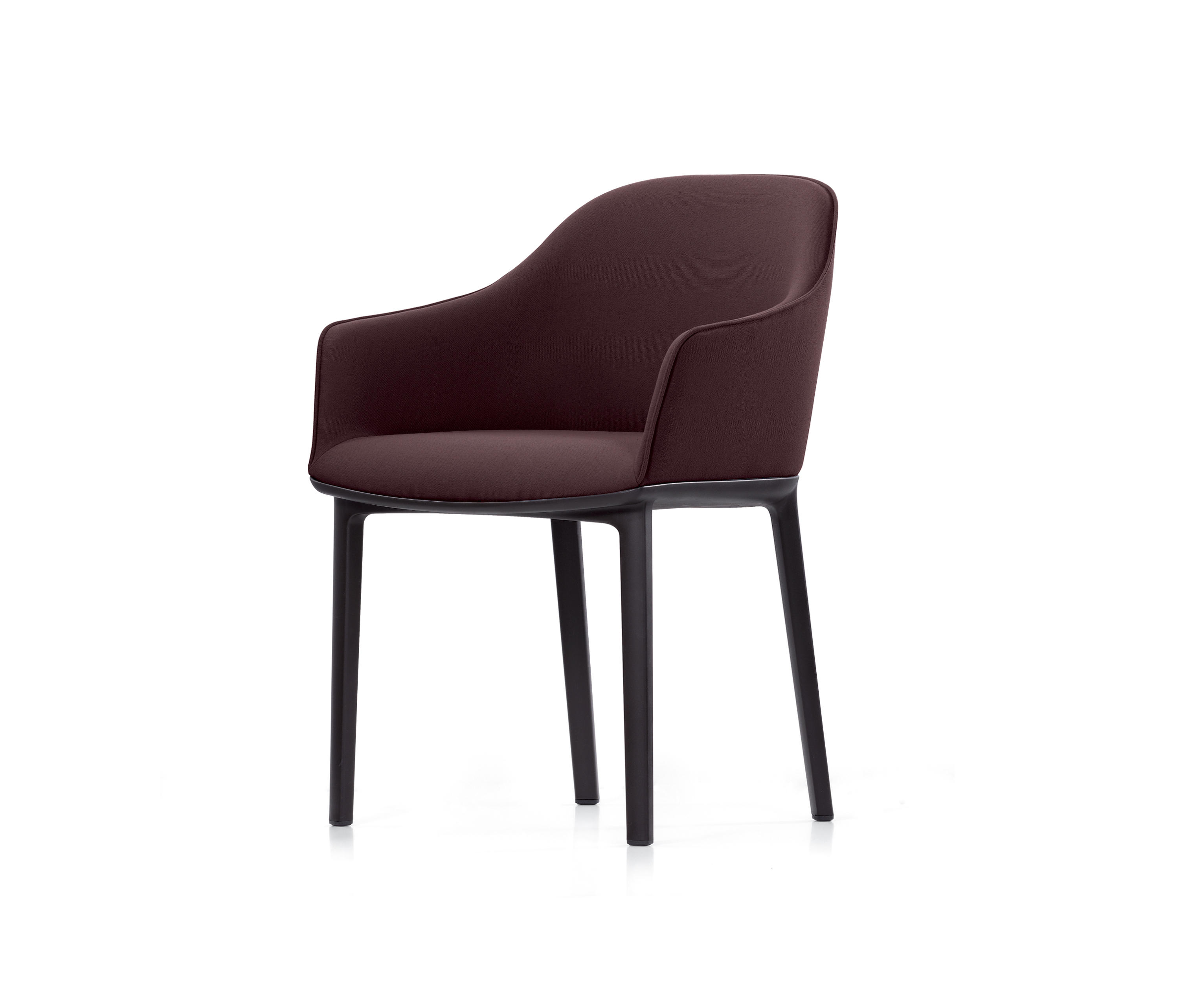 softshell chair visitors chairs side chairs from vitra architonic. Black Bedroom Furniture Sets. Home Design Ideas