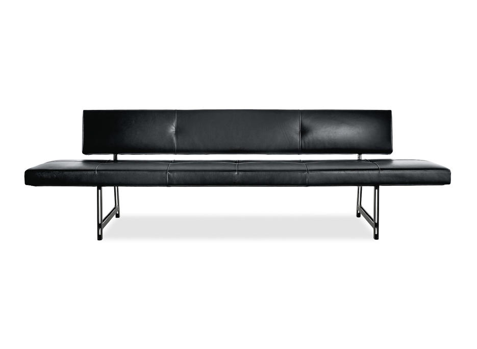 foster 510 bench waiting area benches from walter knoll architonic. Black Bedroom Furniture Sets. Home Design Ideas