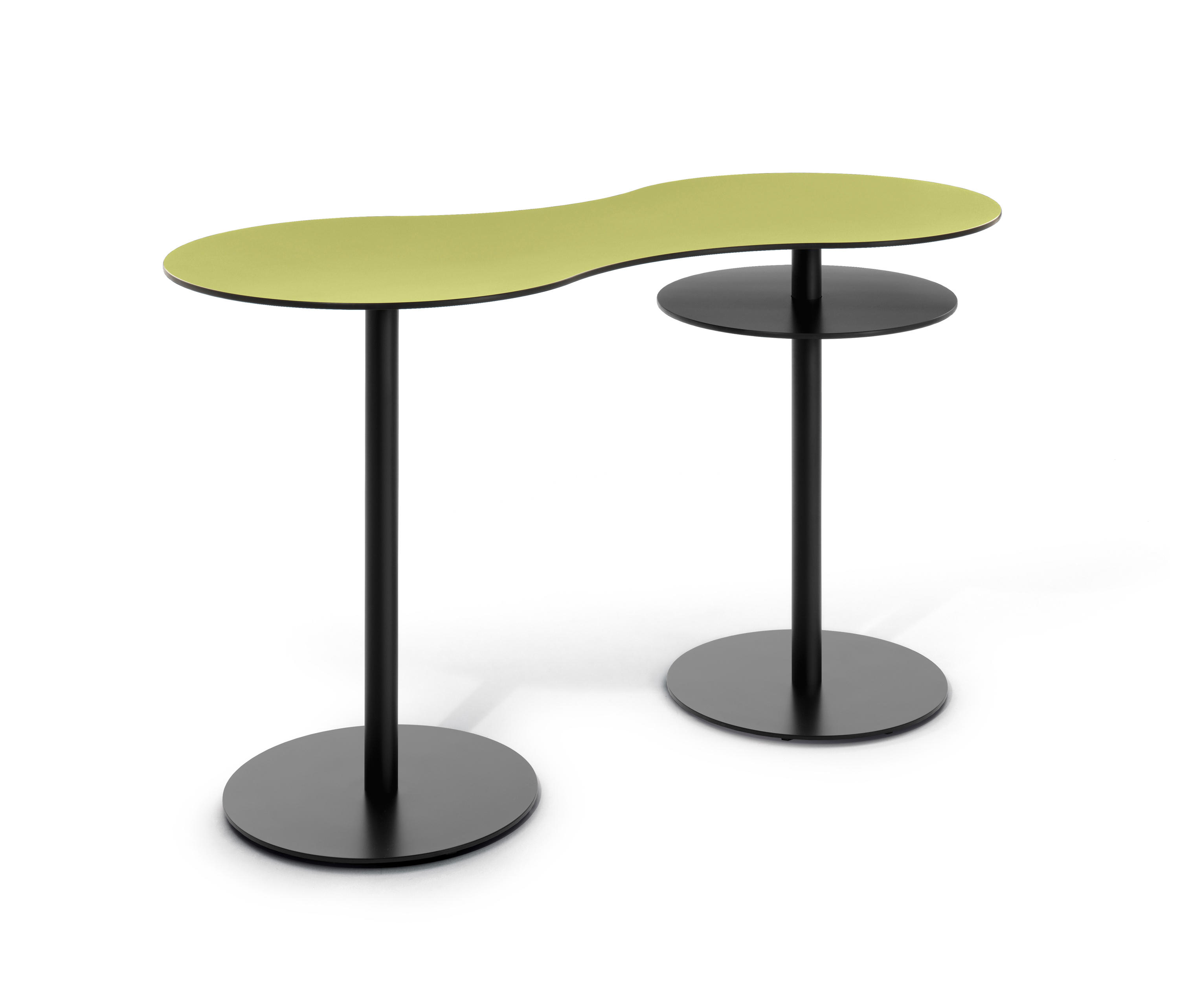 T meeting stand up table bar tables from bene architonic for Table haute 50x50